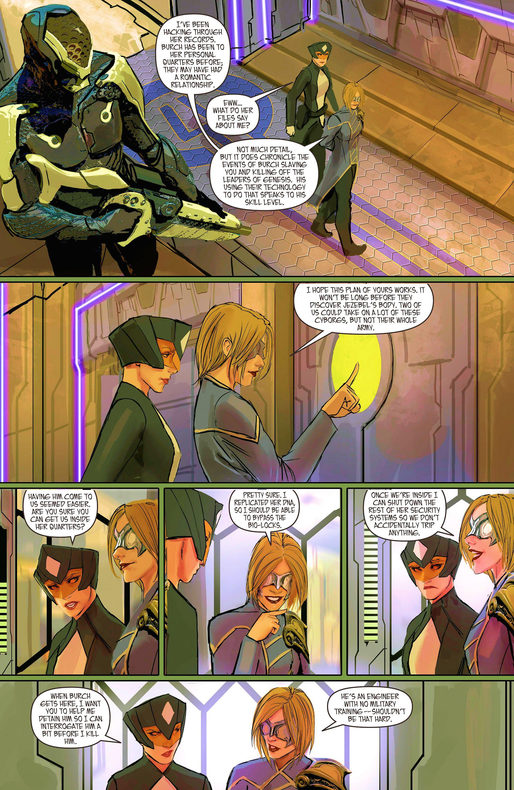 Read online Aphrodite IX (2013) comic -  Issue #9 - 5
