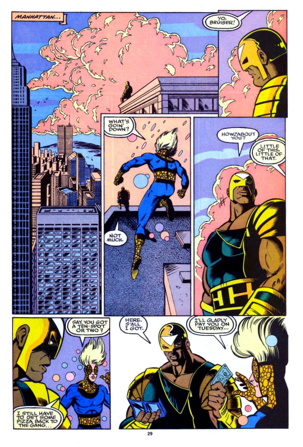 The New Warriors Issue #27 #31 - English 22