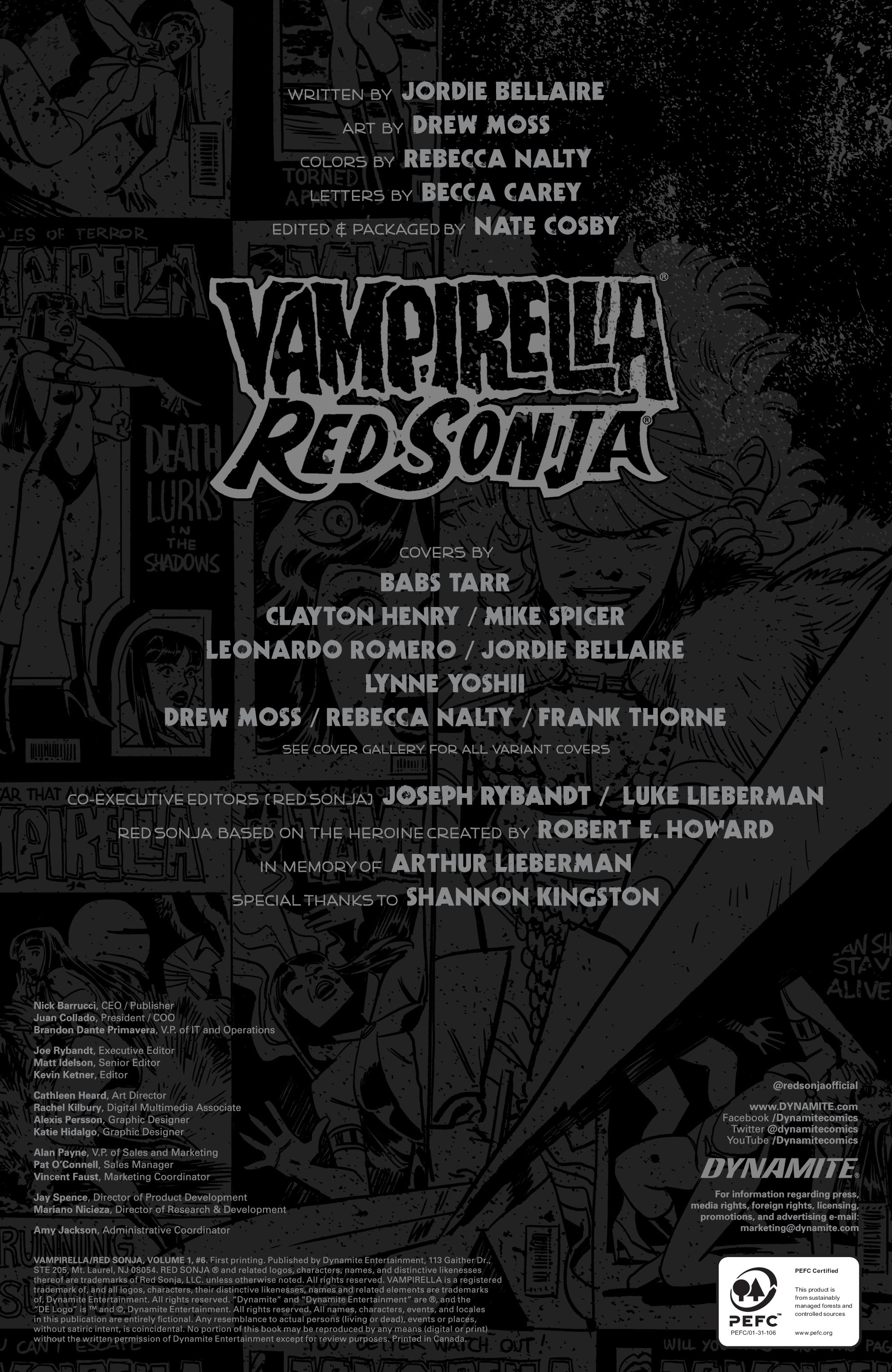 Vampirella/Red Sonja issue 6 - Page 7
