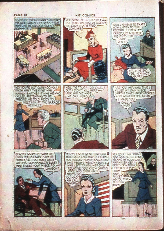 Read online Hit Comics comic -  Issue #4 - 20