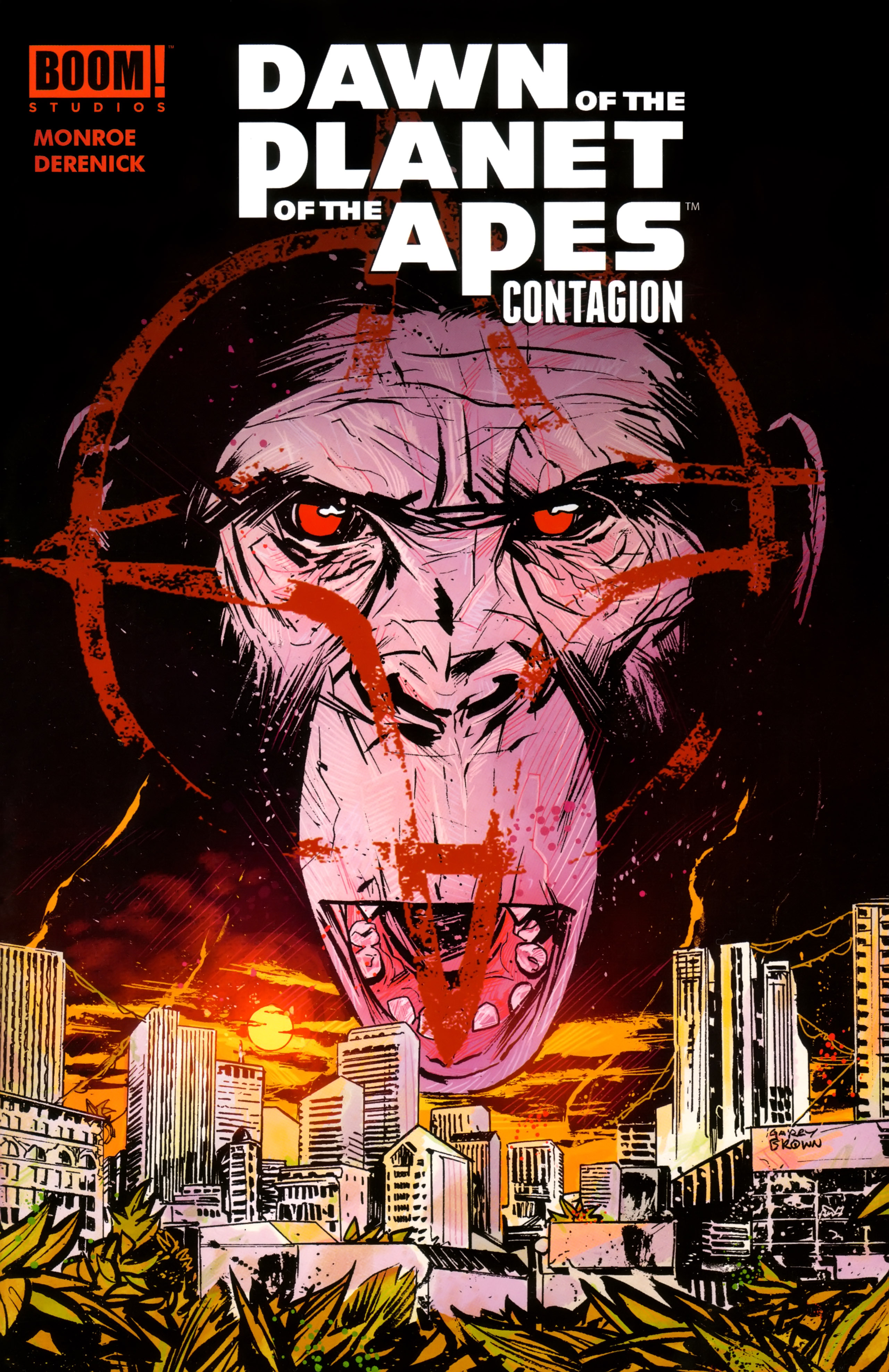 Read online Dawn of the Planet of the Apes:Contagion comic -  Issue # Full - 1