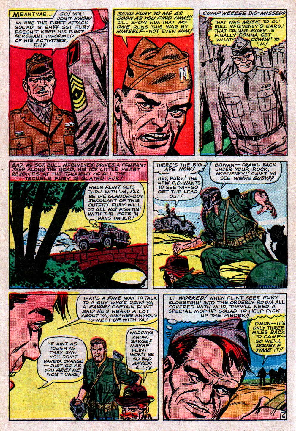 Read online Sgt. Fury comic -  Issue #11 - 10