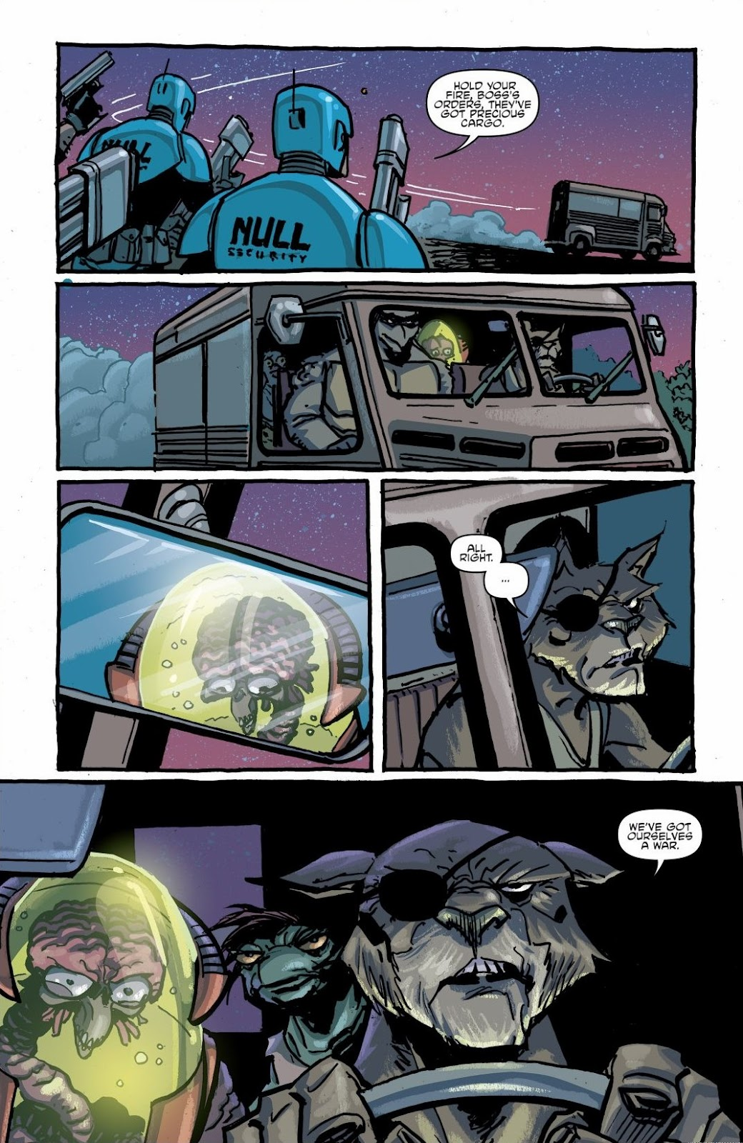 Read online Teenage Mutant Ninja Turtles: The IDW Collection comic -  Issue # TPB 6 (Part 1) - 27