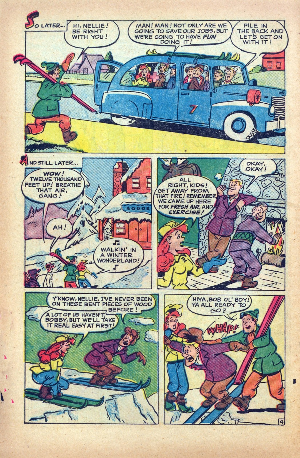 Read online Nellie The Nurse (1945) comic -  Issue #25 - 6