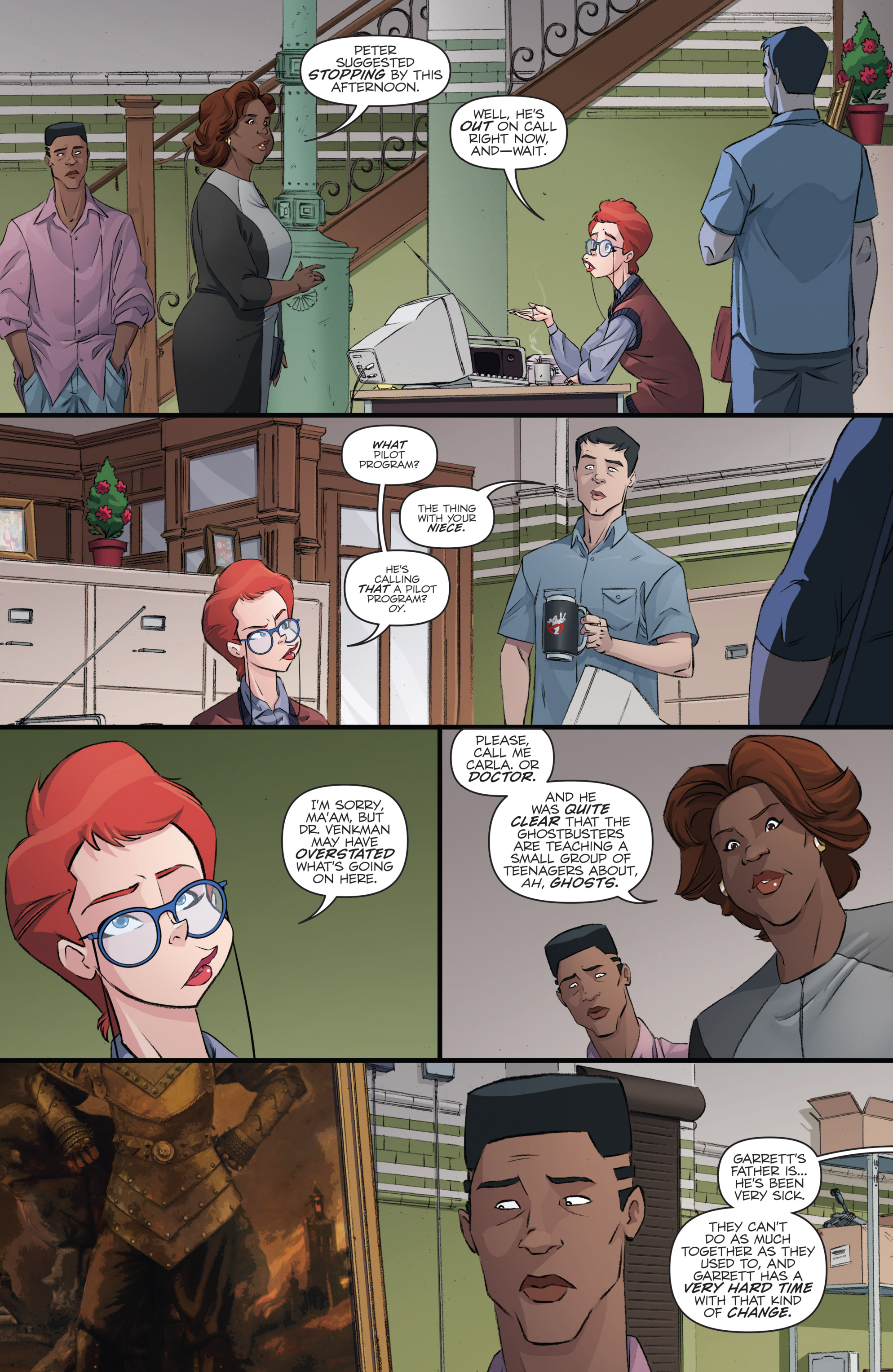 Read online Ghostbusters 101 comic -  Issue #2 - 14