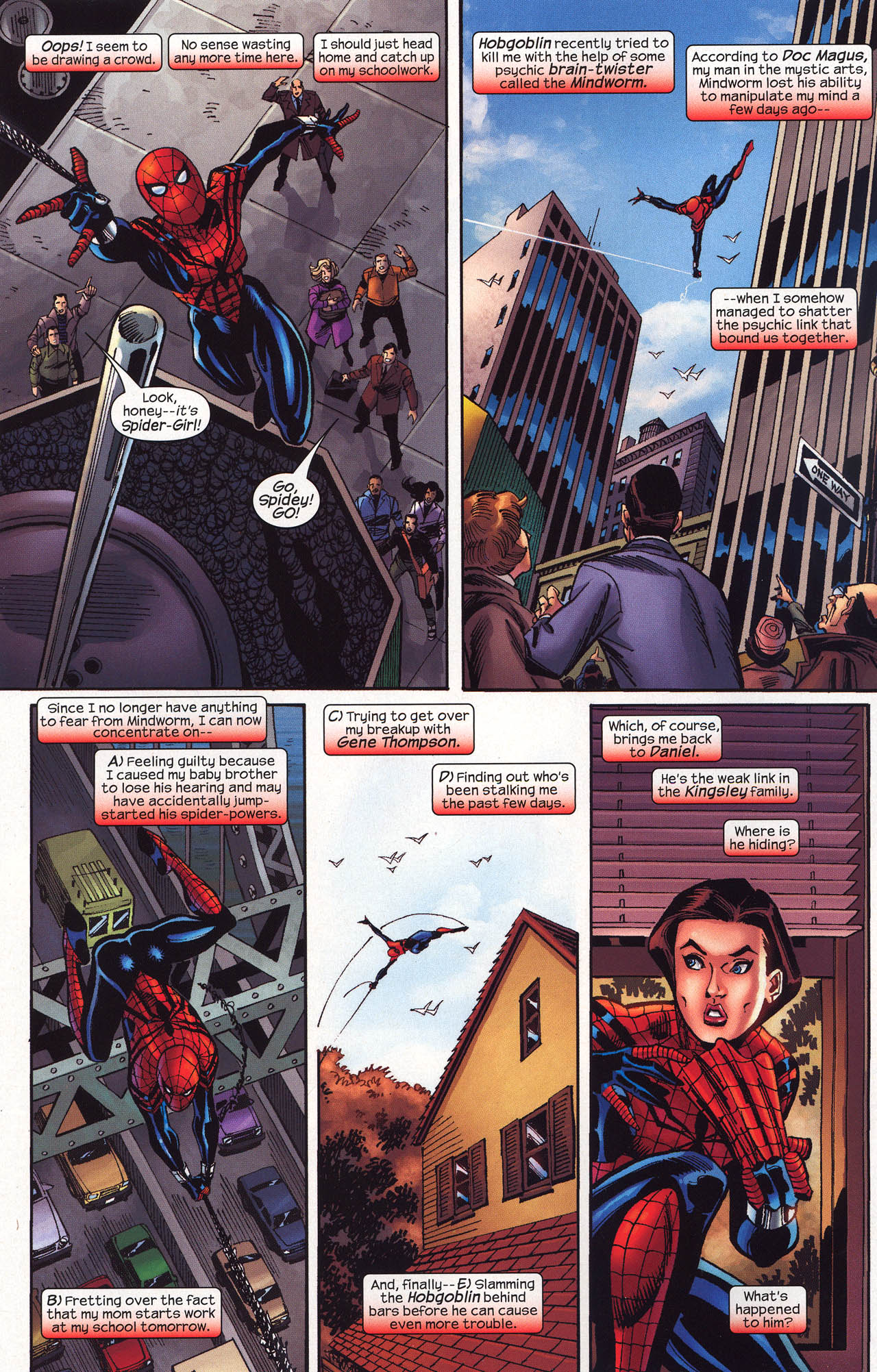 Read online Amazing Spider-Girl comic -  Issue #16 - 8