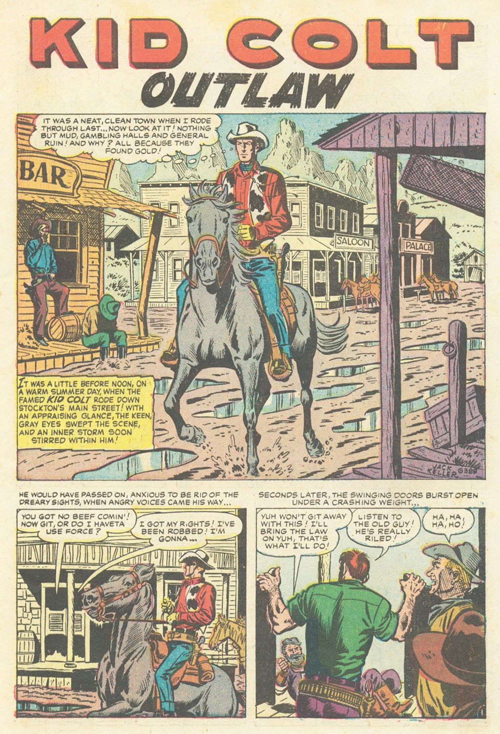 Kid Colt Outlaw issue 52 - Page 3