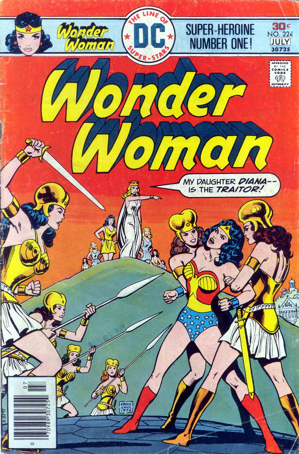 Read online Wonder Woman (1942) comic -  Issue #224 - 1