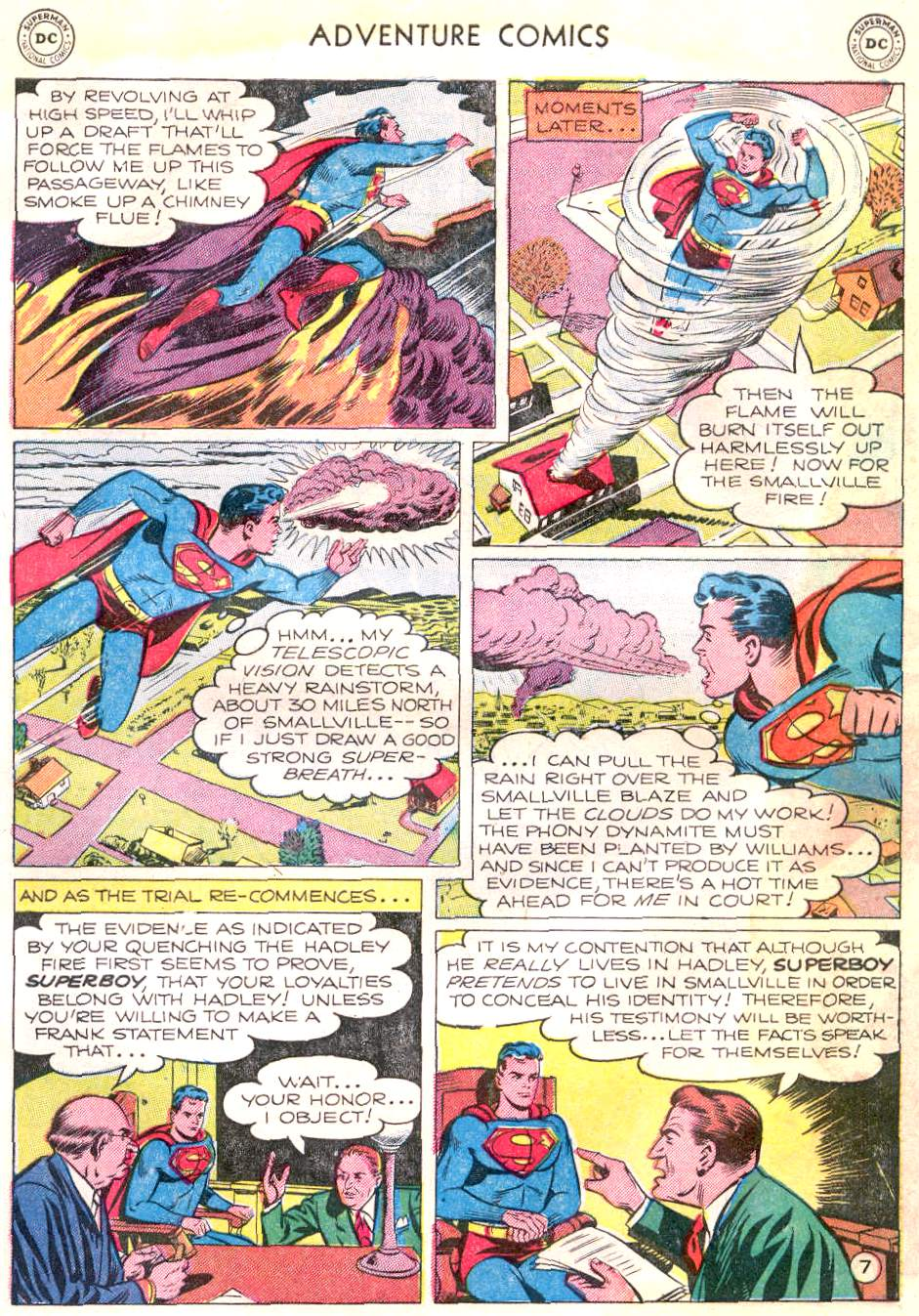 Read online Adventure Comics (1938) comic -  Issue #166 - 8