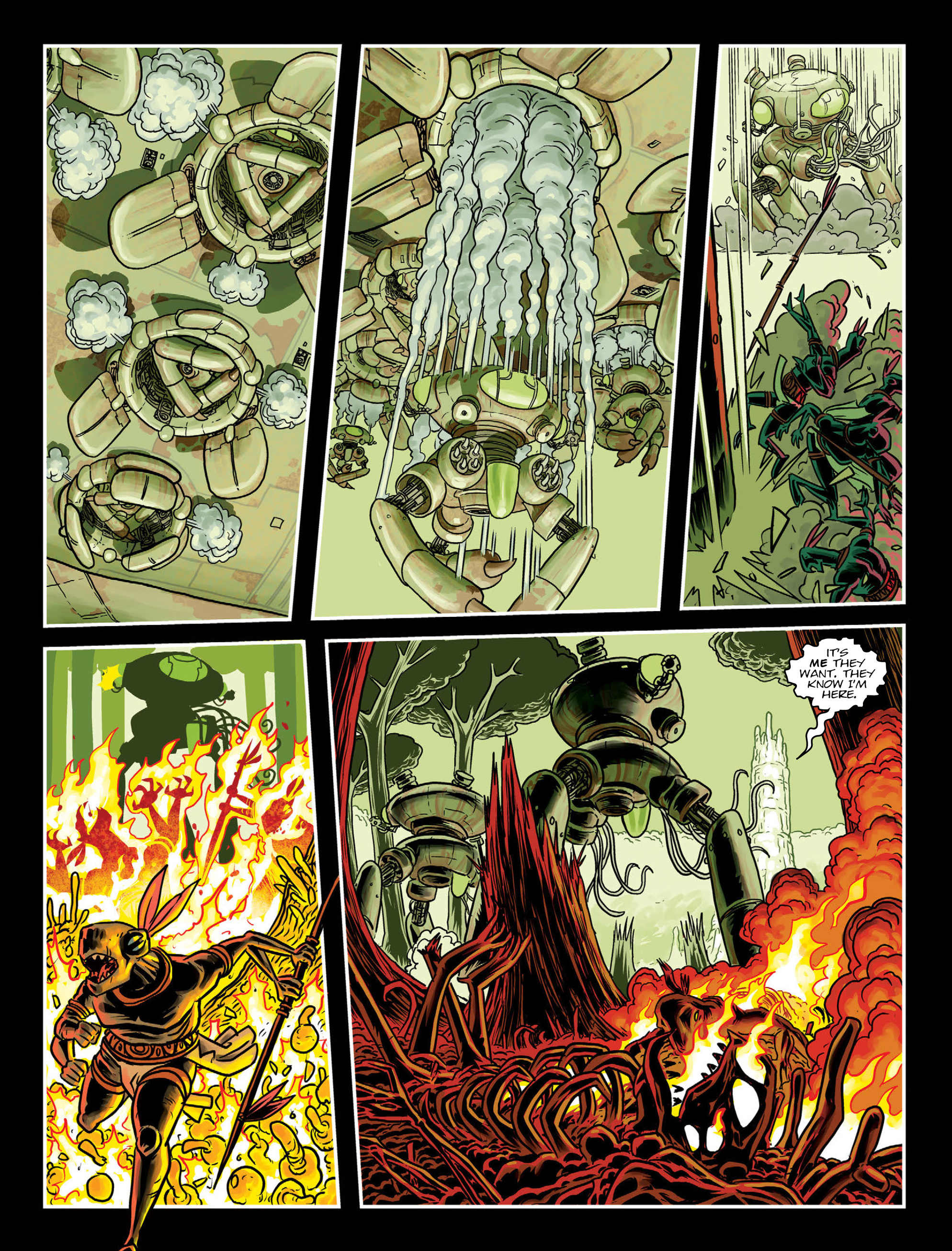 Read online 2000 AD comic -  Issue #1998 - 17