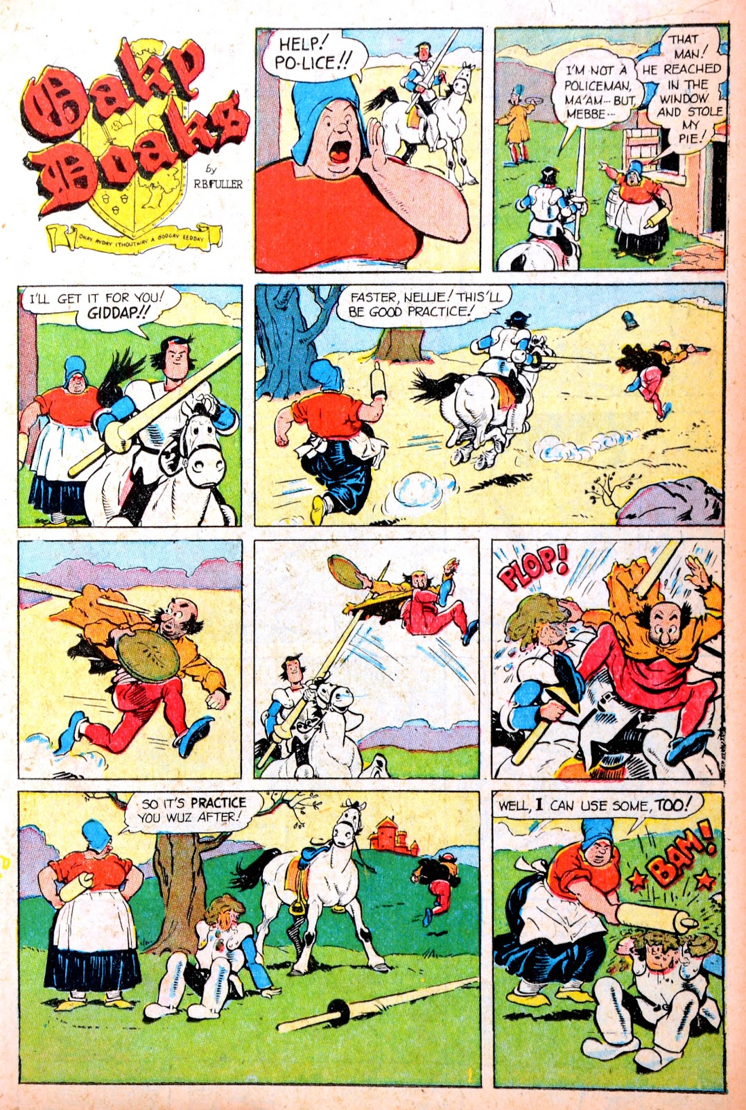 Read online Famous Funnies comic -  Issue #195 - 15