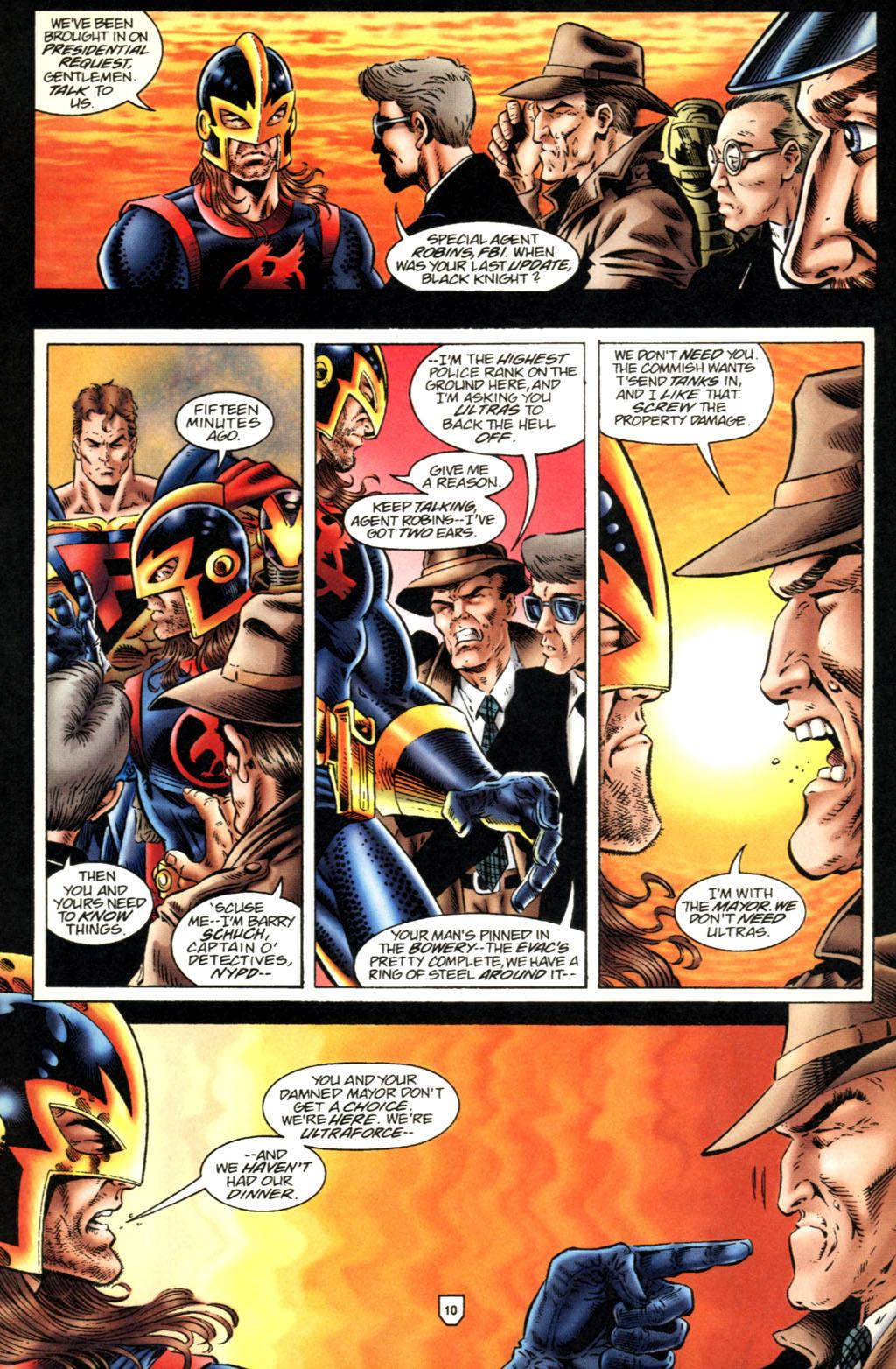 Read online UltraForce (1995) comic -  Issue #2 - 11