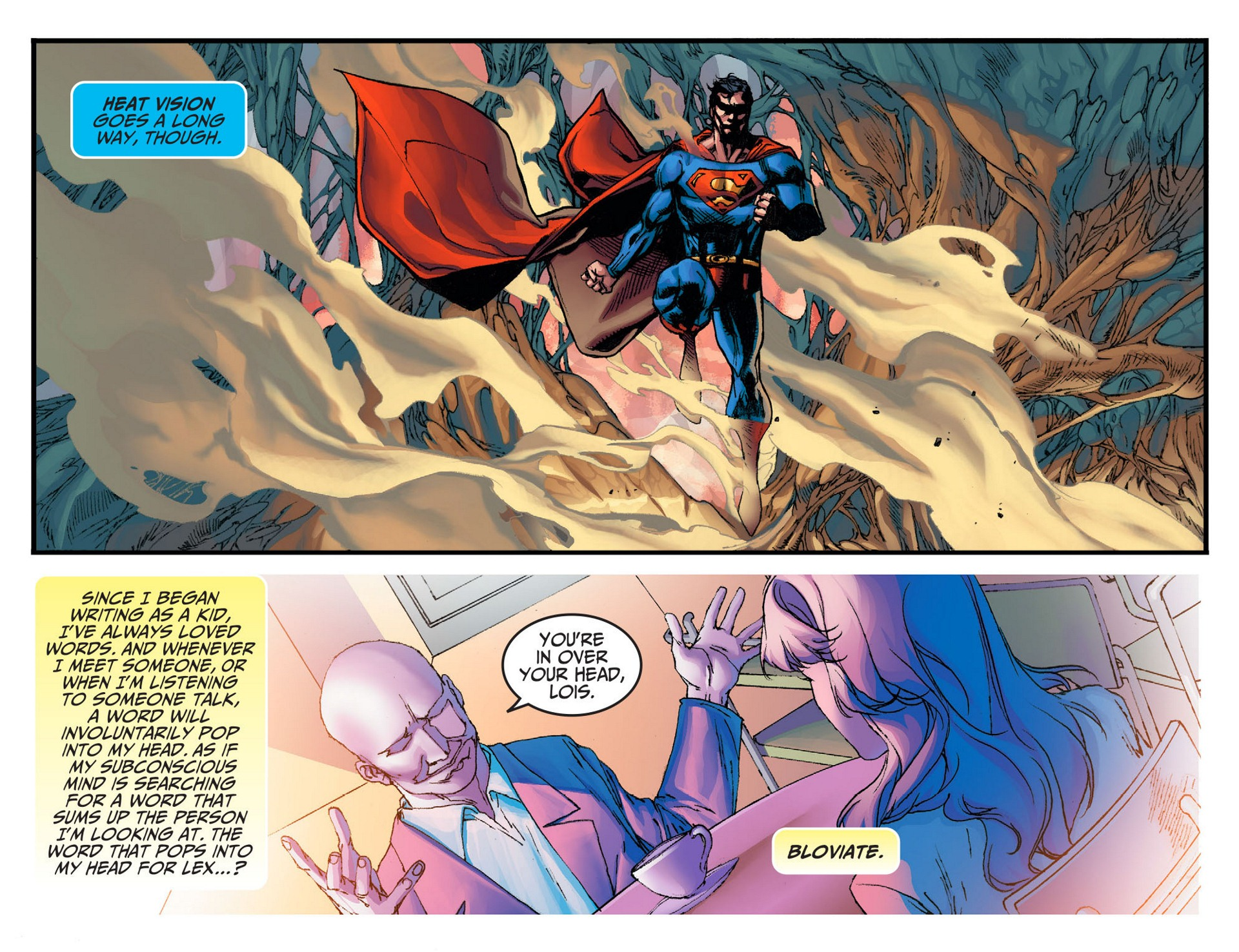 Read online Adventures of Superman [I] comic -  Issue #7 - 14