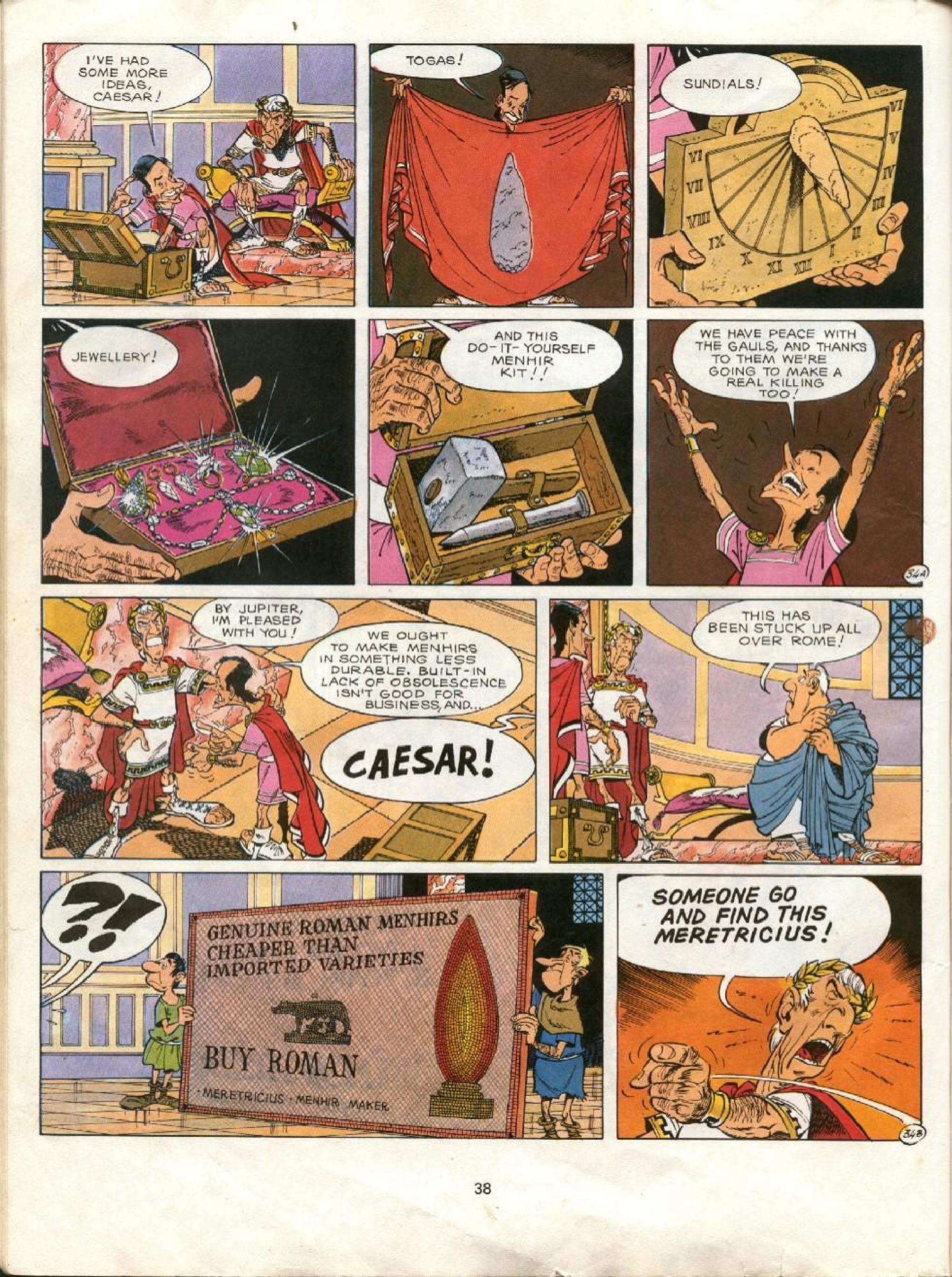 Read online Asterix comic -  Issue #23 - 35