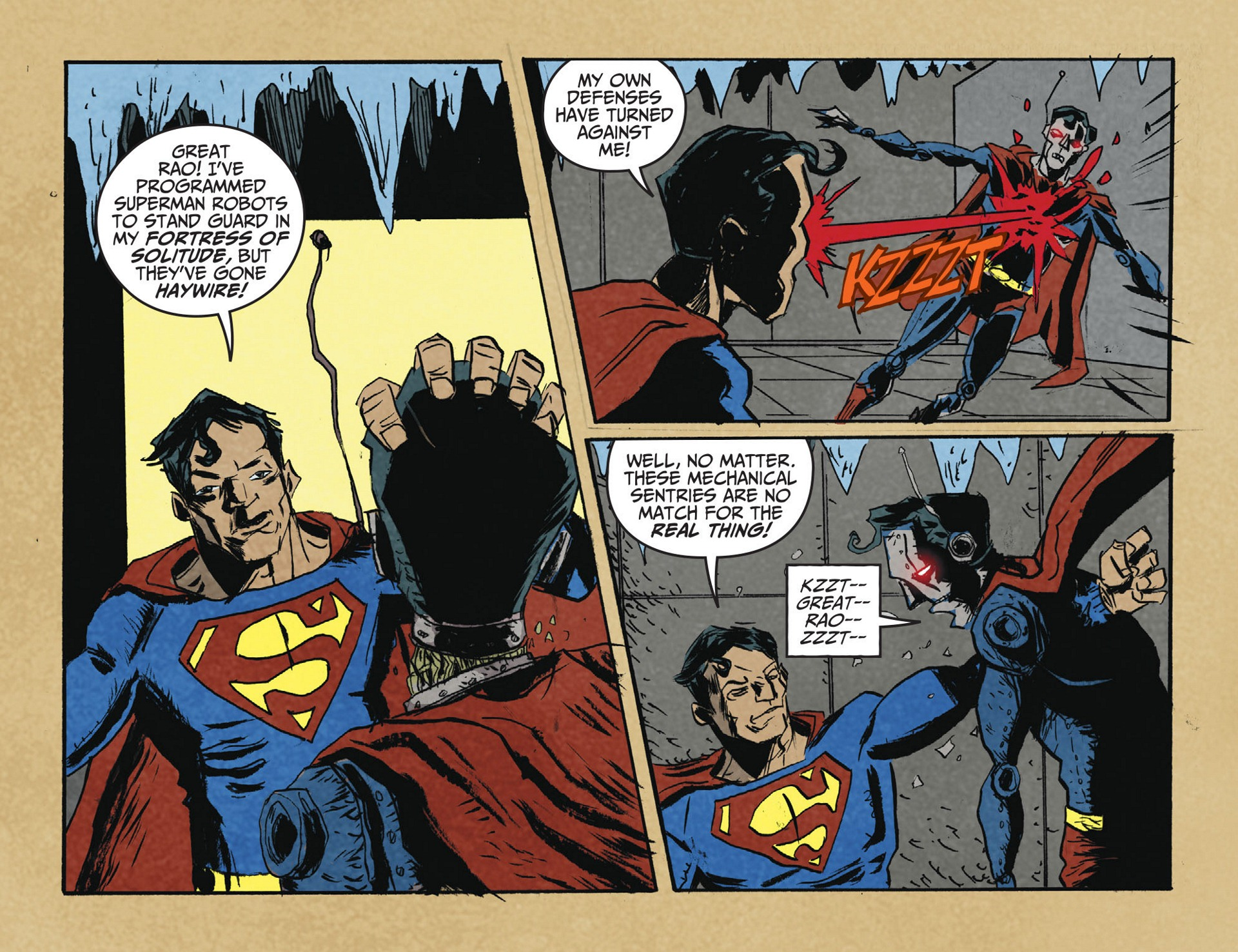 Read online Adventures of Superman [I] comic -  Issue #2 - 7