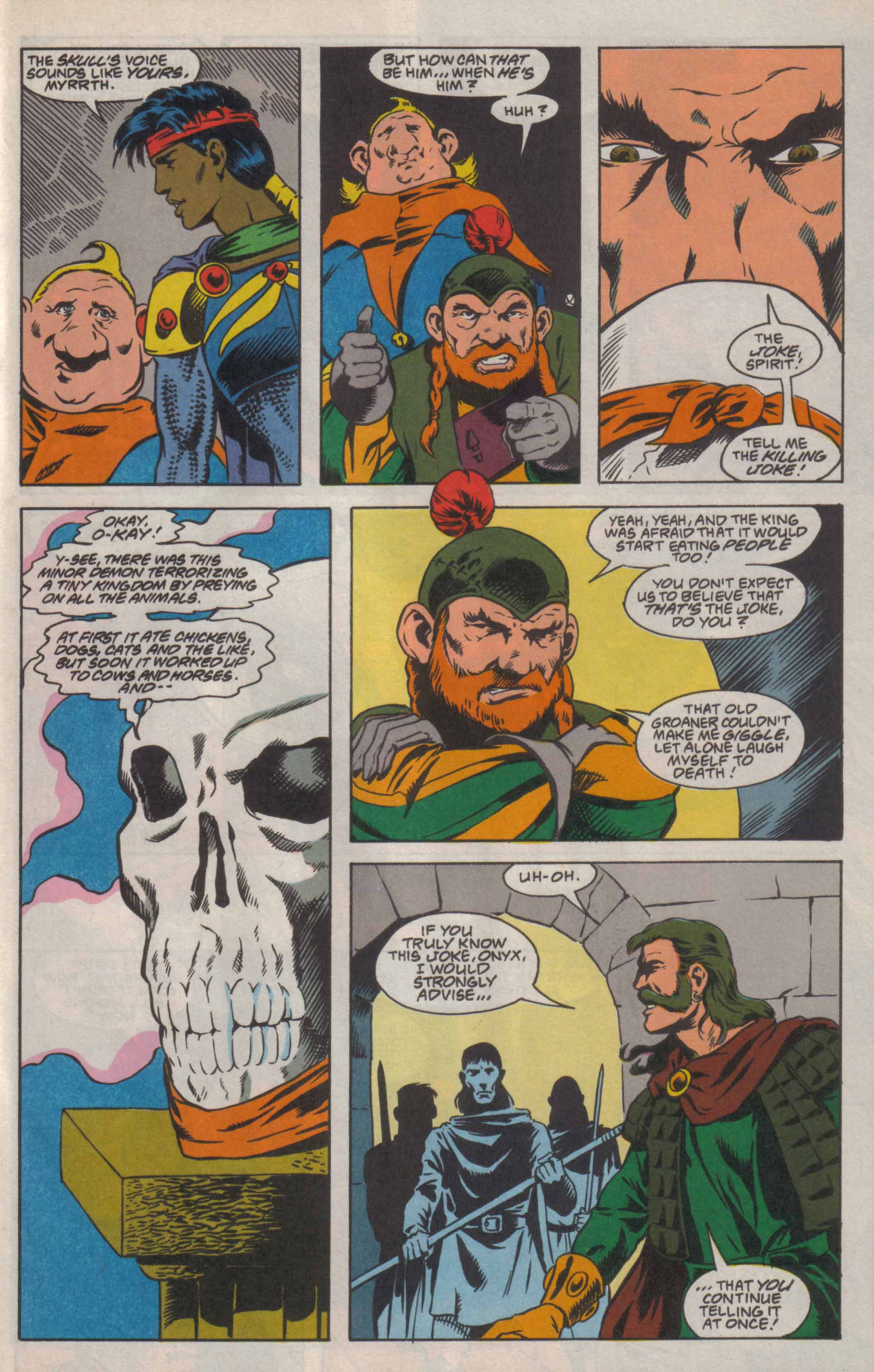 Read online Advanced Dungeons & Dragons comic -  Issue #8 - 16