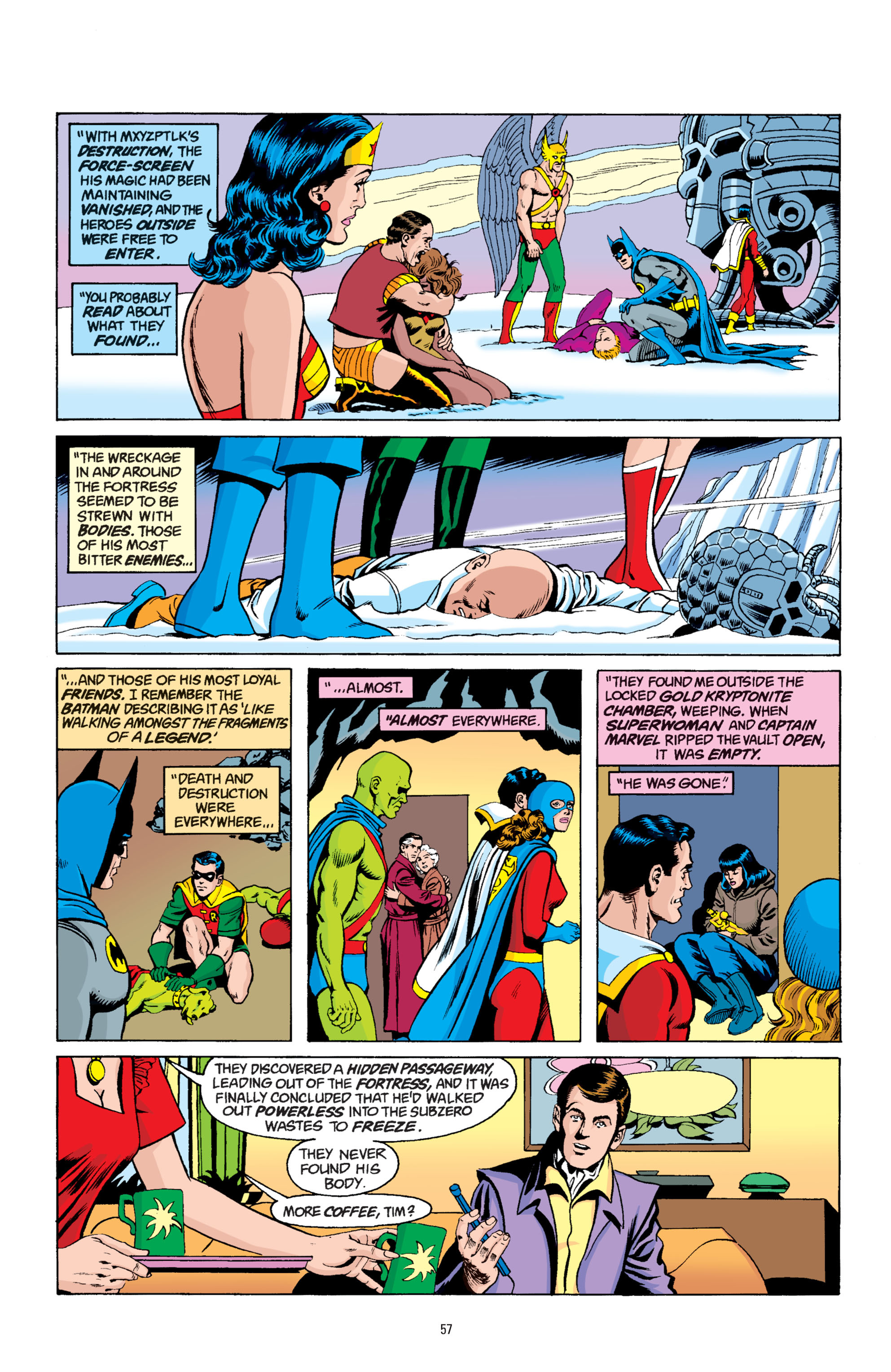 Read online Superman: Whatever Happened to the Man of Tomorrow? comic -  Issue # TPB - 56