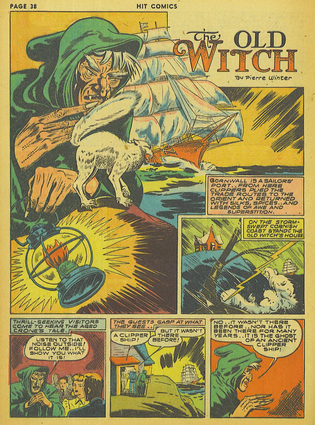 Read online Hit Comics comic -  Issue #13 - 40