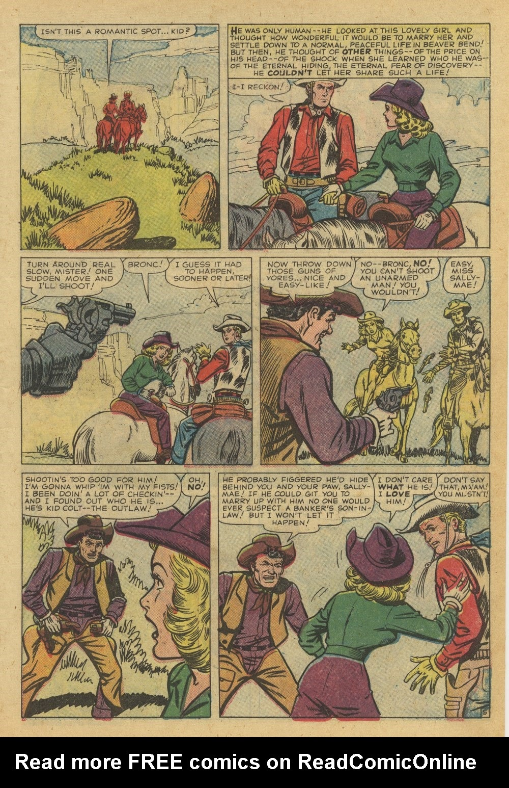 Kid Colt Outlaw issue 82 - Page 7
