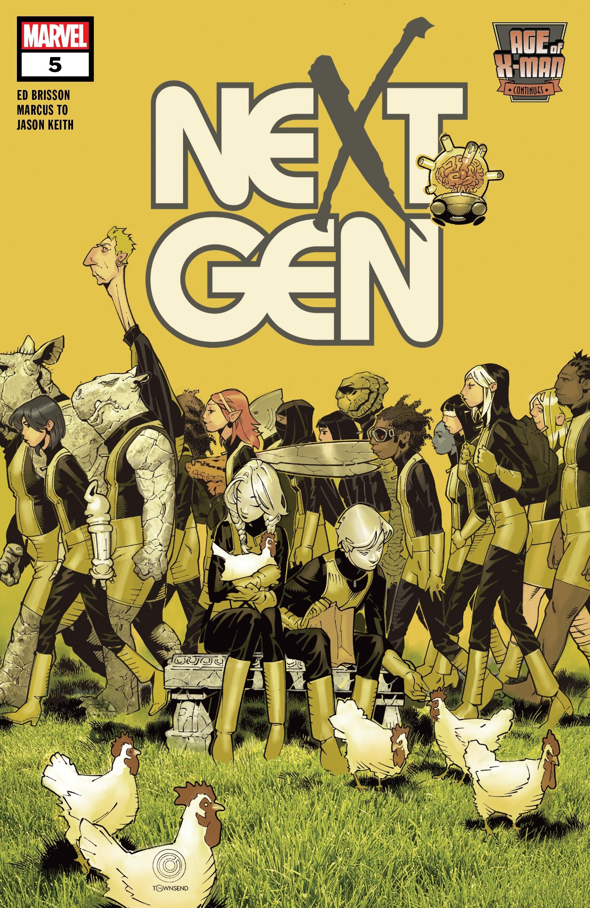 Age of X-Man: NextGen 5 Page 1