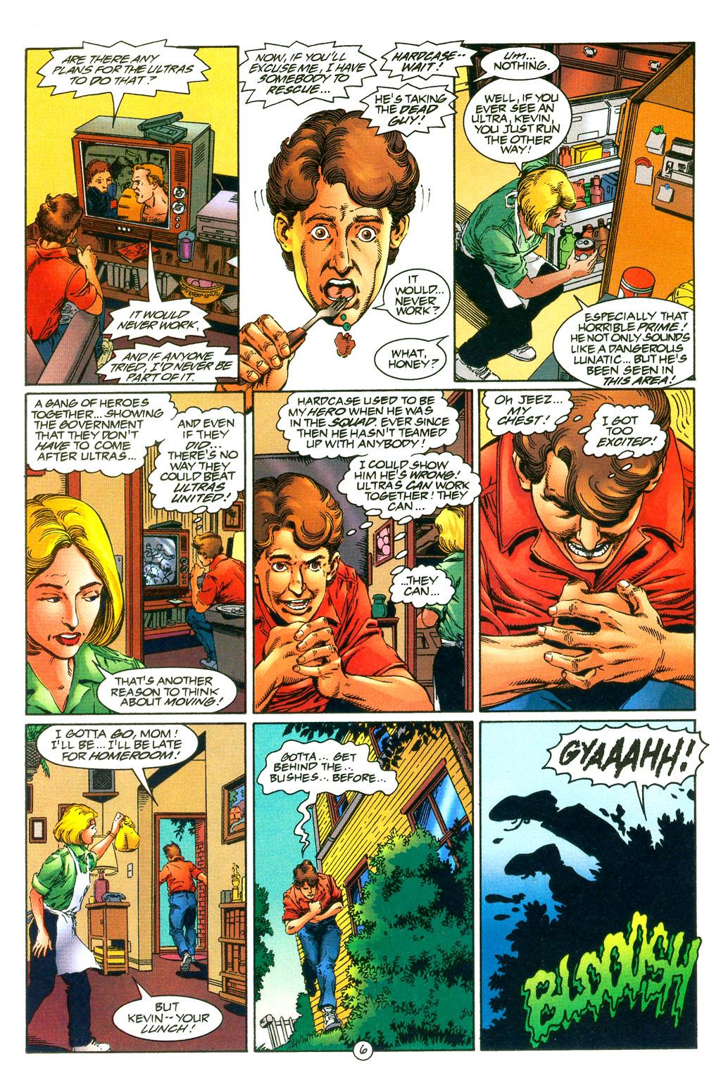Read online UltraForce (1994) comic -  Issue #0 - 8