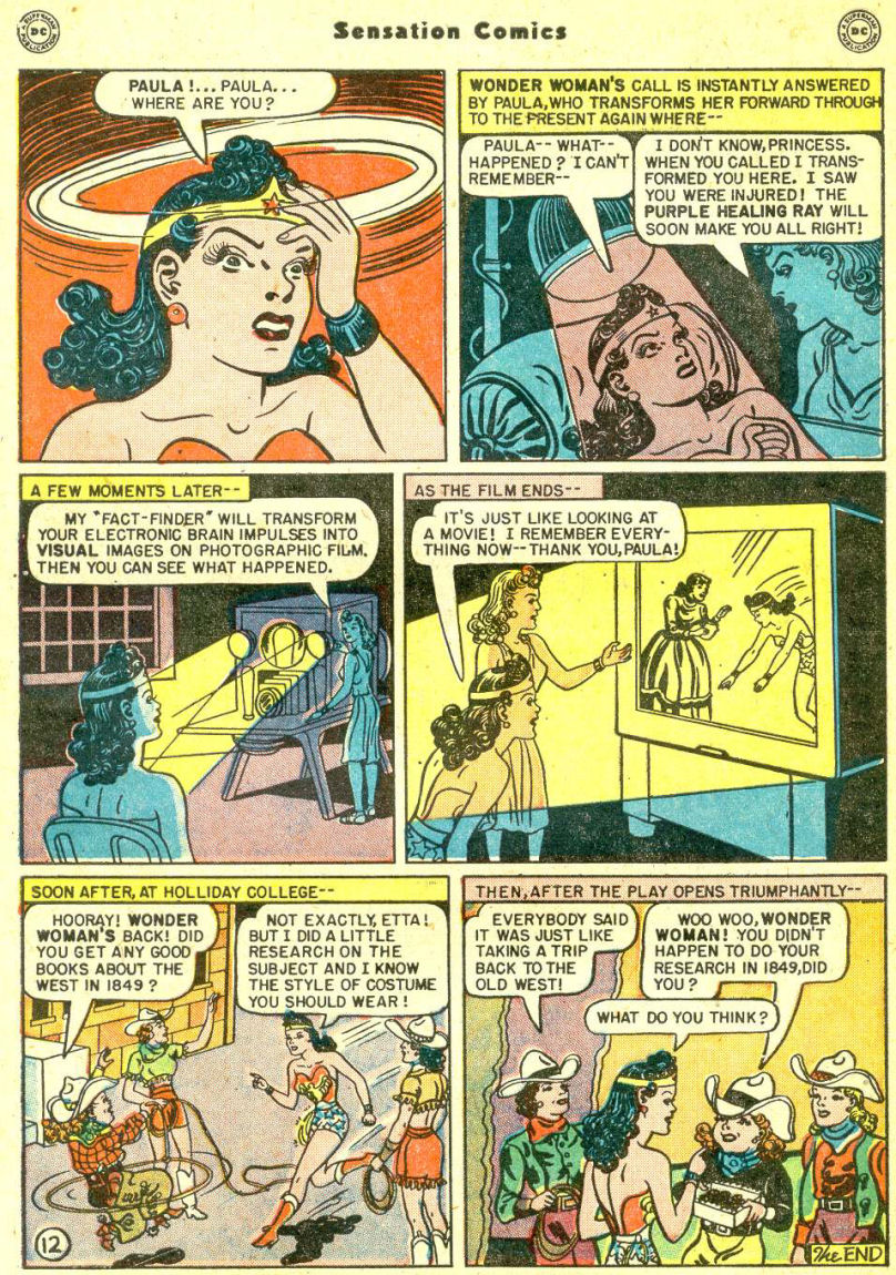 Read online Sensation (Mystery) Comics comic -  Issue #87 - 14