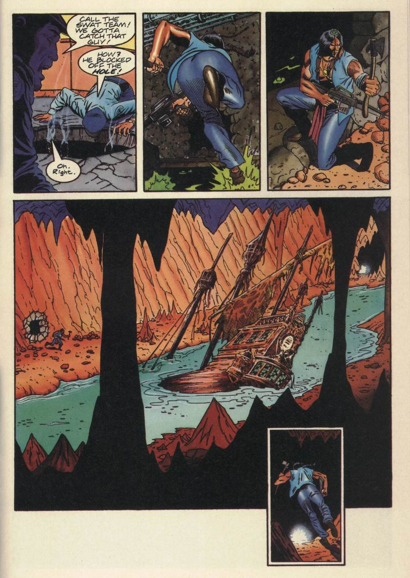Read online Turok, Dinosaur Hunter (1993) comic -  Issue #15 - 14