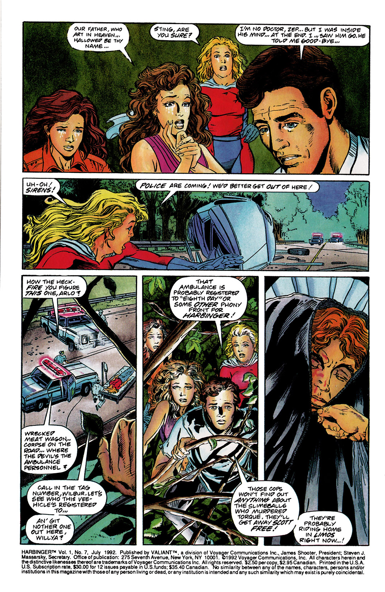Read online Harbinger (1992) comic -  Issue #7 - 3
