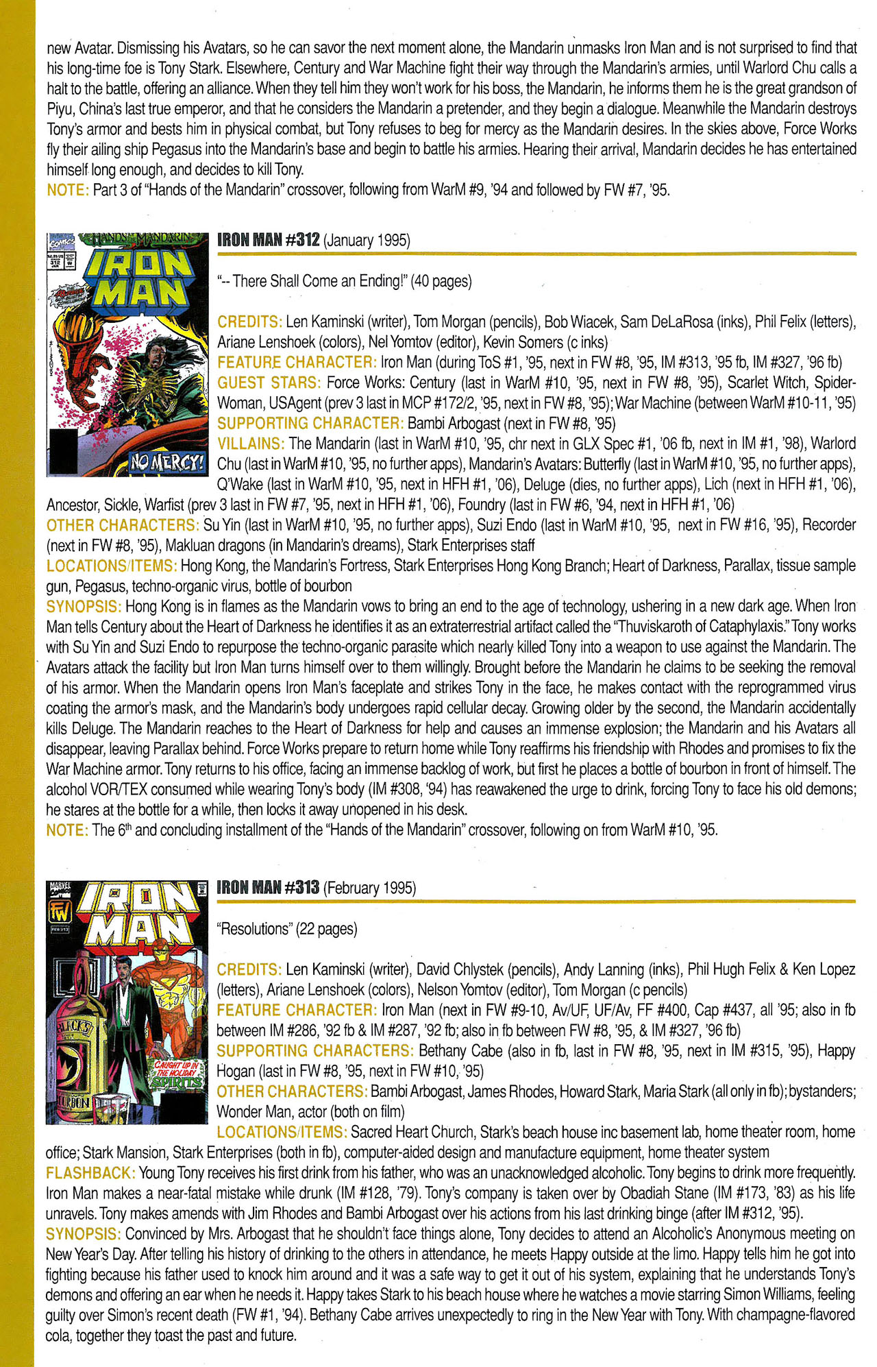 Read online Official Index to the Marvel Universe comic -  Issue #9 - 30