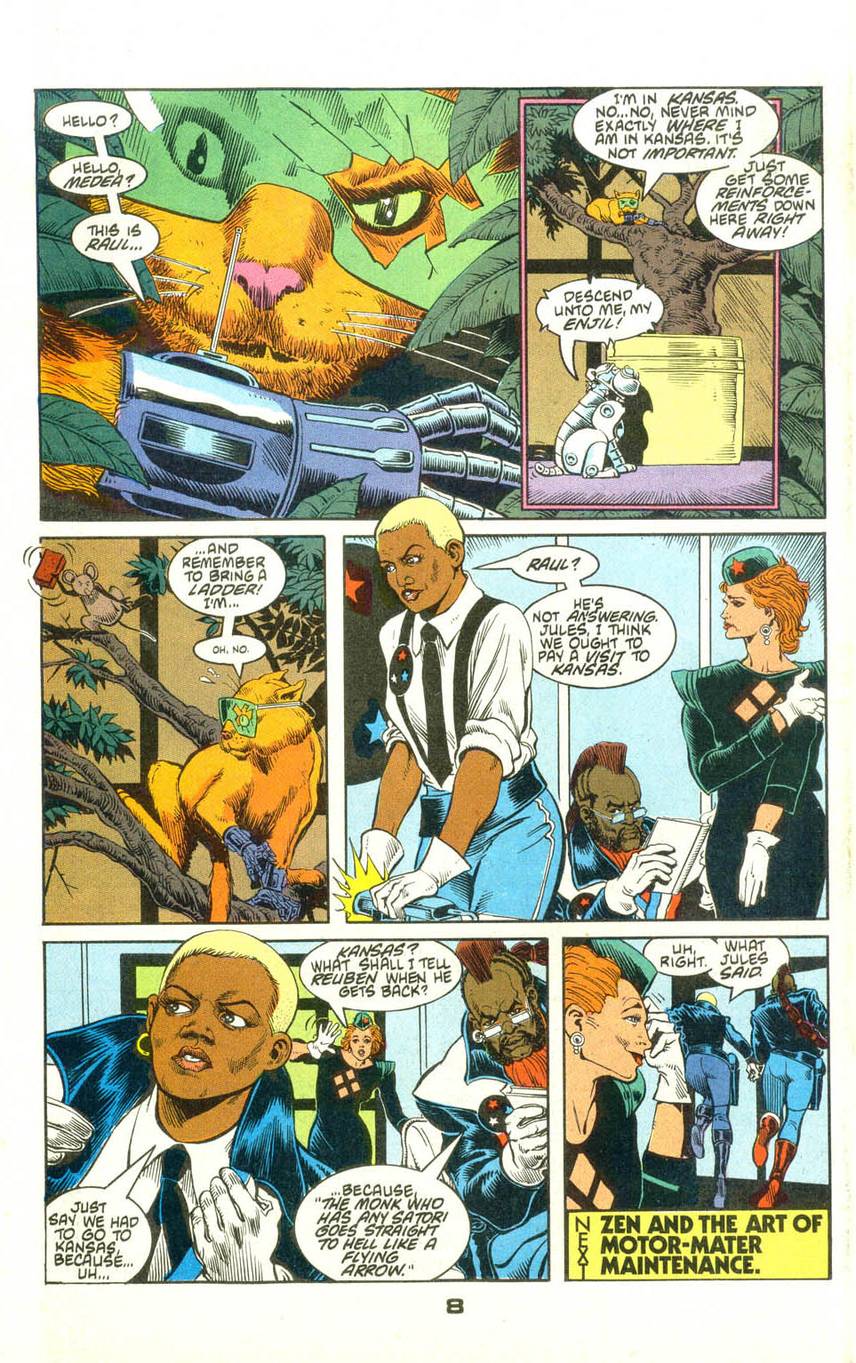 Read online American Flagg! comic -  Issue #23 - 30