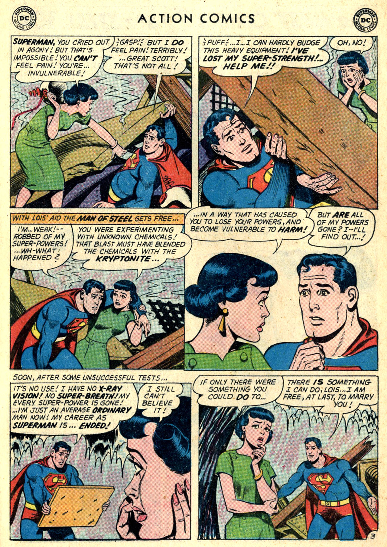Read online Action Comics (1938) comic -  Issue #274 - 5