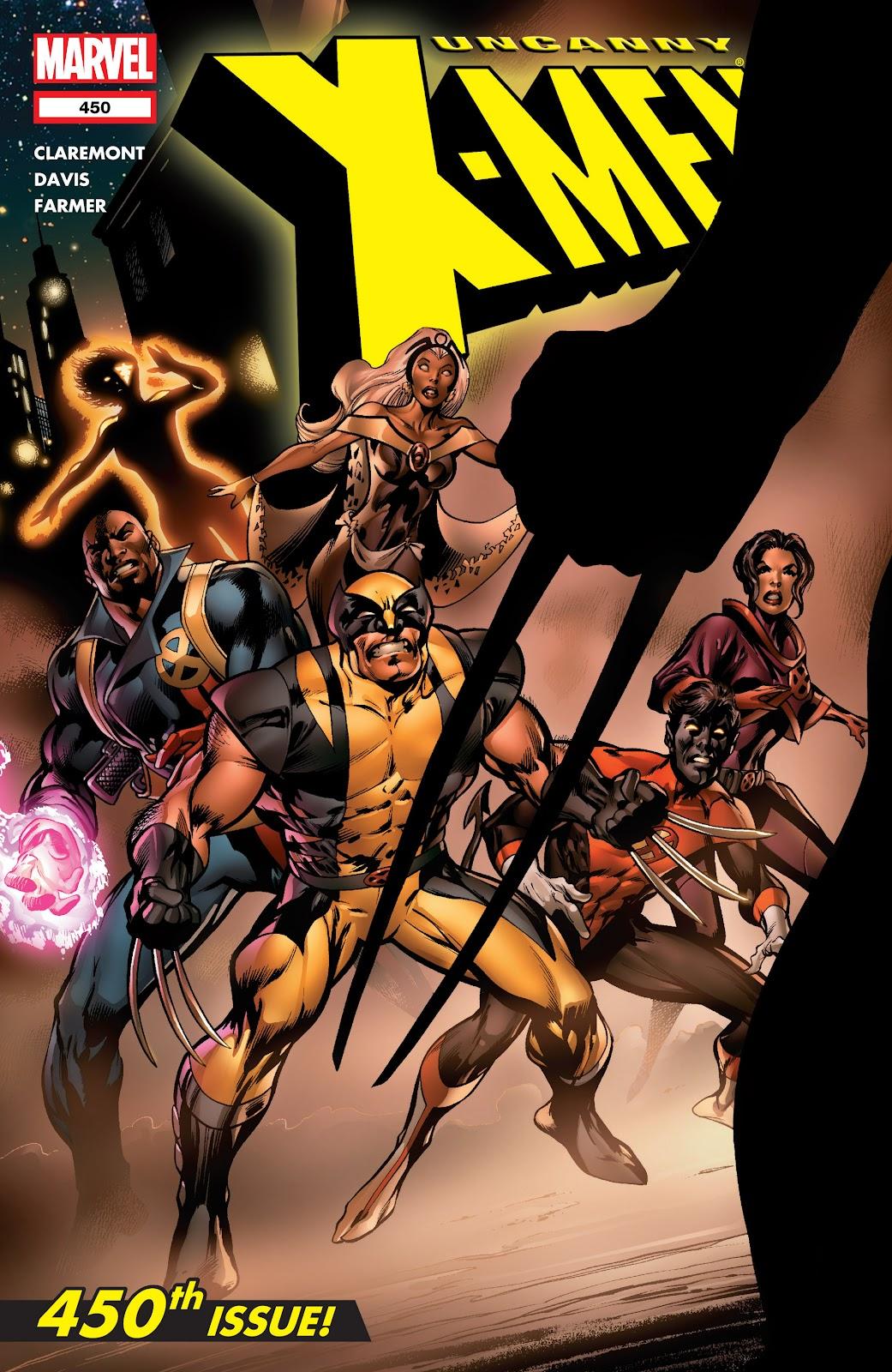 Uncanny X-Men (1963) issue 450 - Page 1