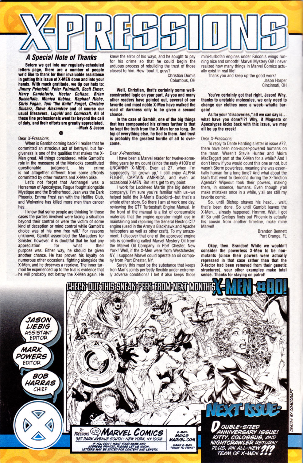 X-Men (1991) 79 Page 24