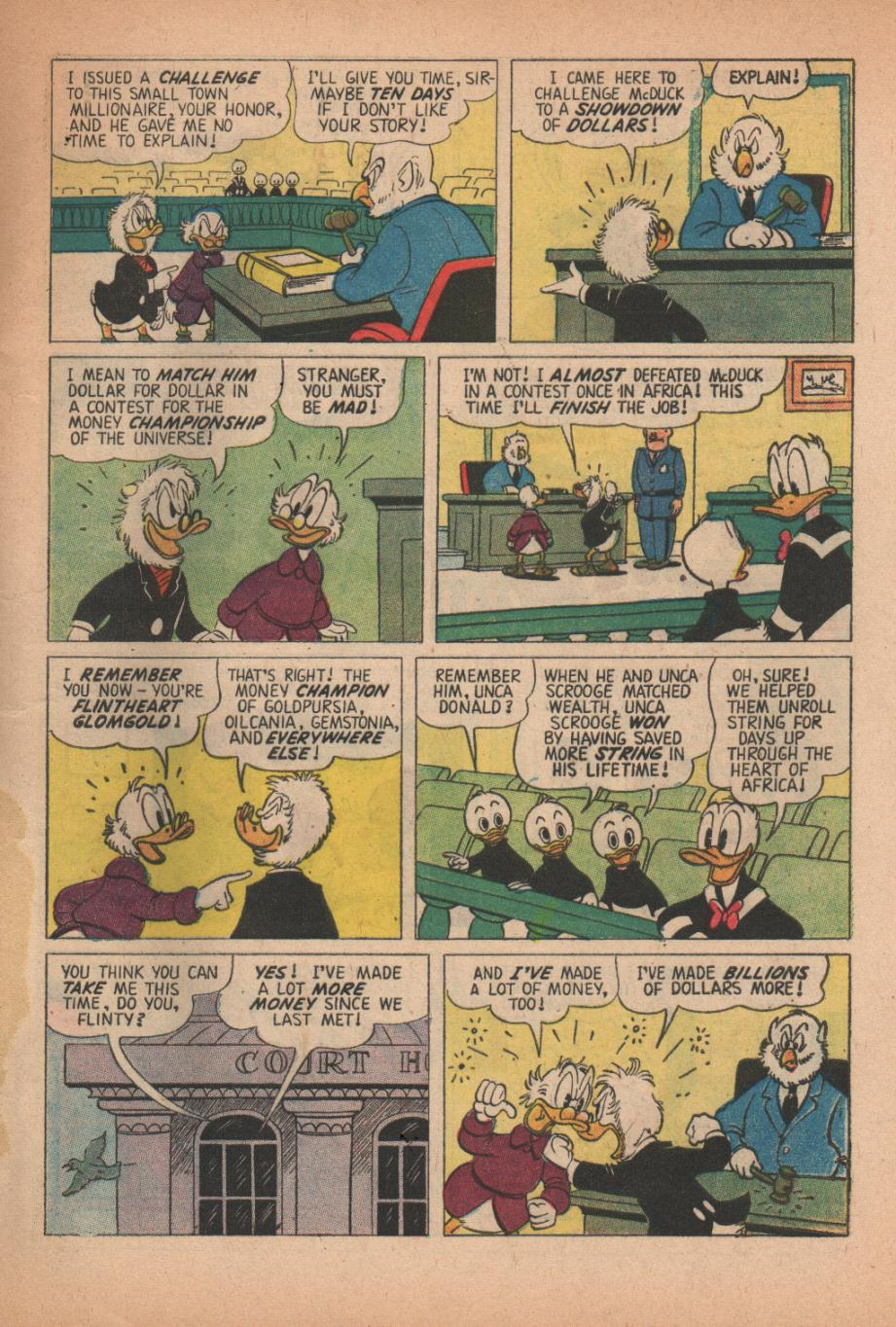 Read online Uncle Scrooge (1953) comic -  Issue #27 - 5
