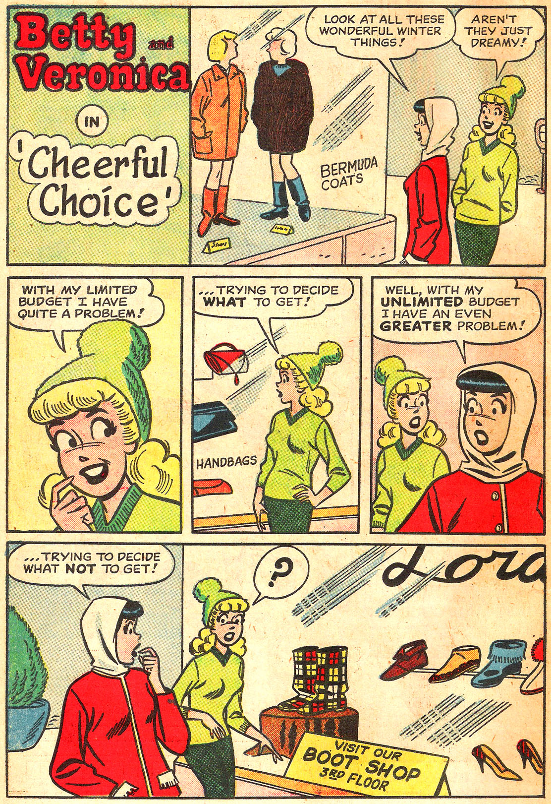 Read online Archie's Girls Betty and Veronica comic -  Issue #87 - 10