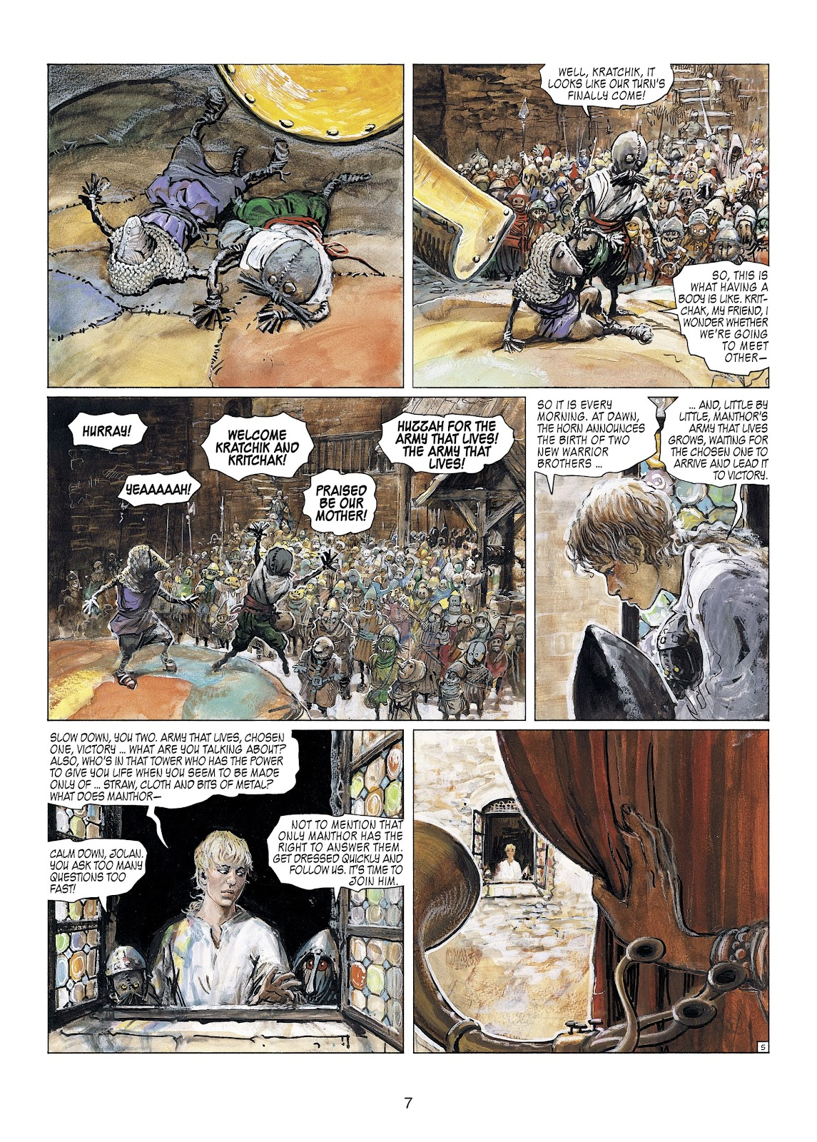 Read online Thorgal comic -  Issue #23 - 9