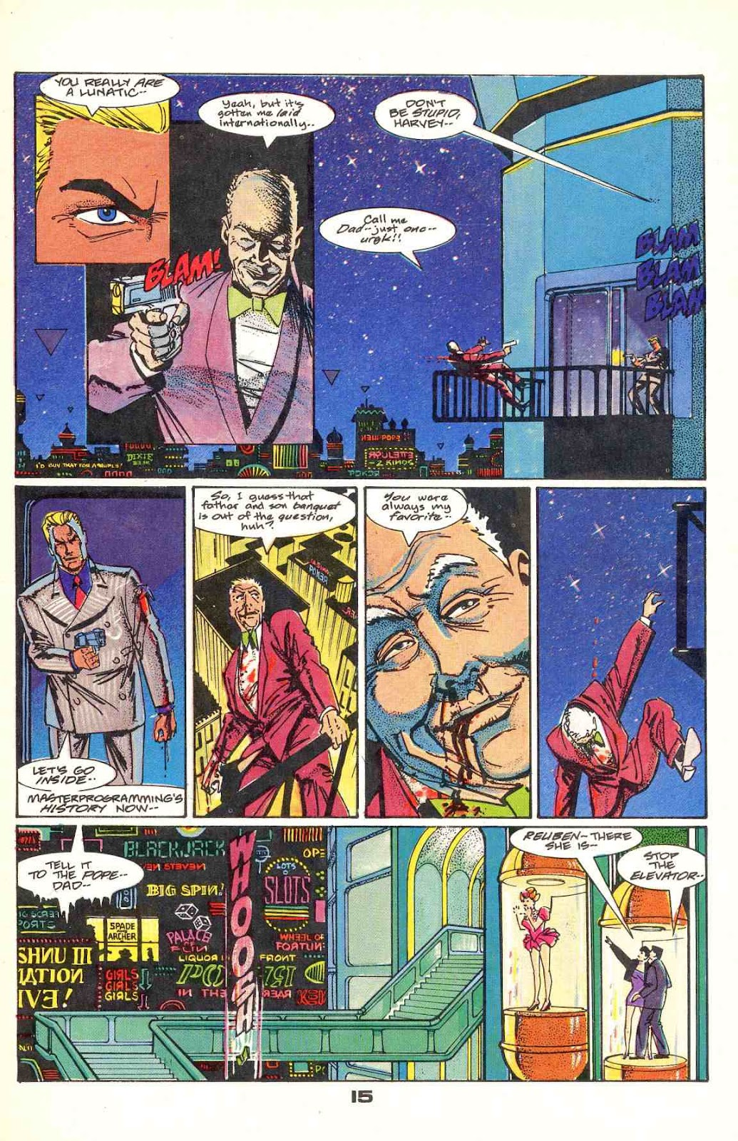Howard Chaykin's American Flagg issue 12 - Page 19