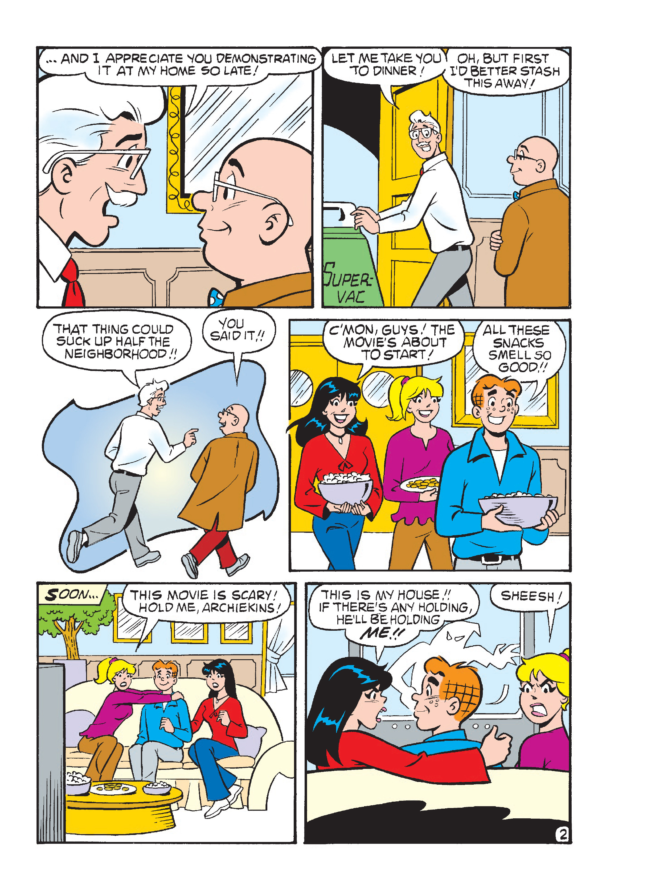 Read online Archie's Funhouse Double Digest comic -  Issue #23 - 116