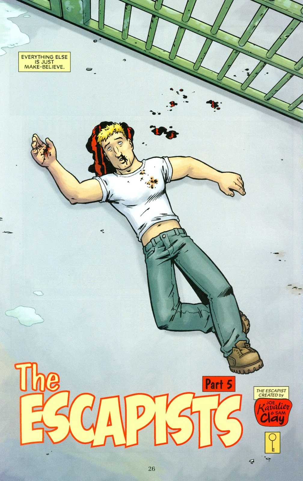 Read online The Escapists comic -  Issue #5 - 28