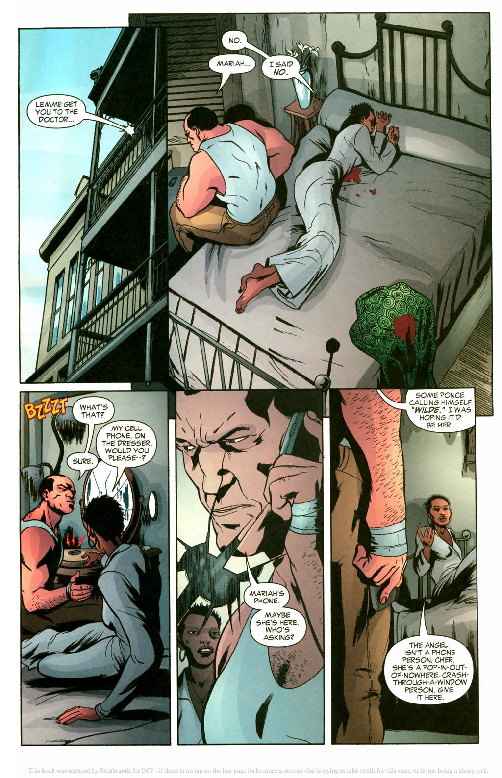 Read online Fallen Angel (2003) comic -  Issue #10 - 14