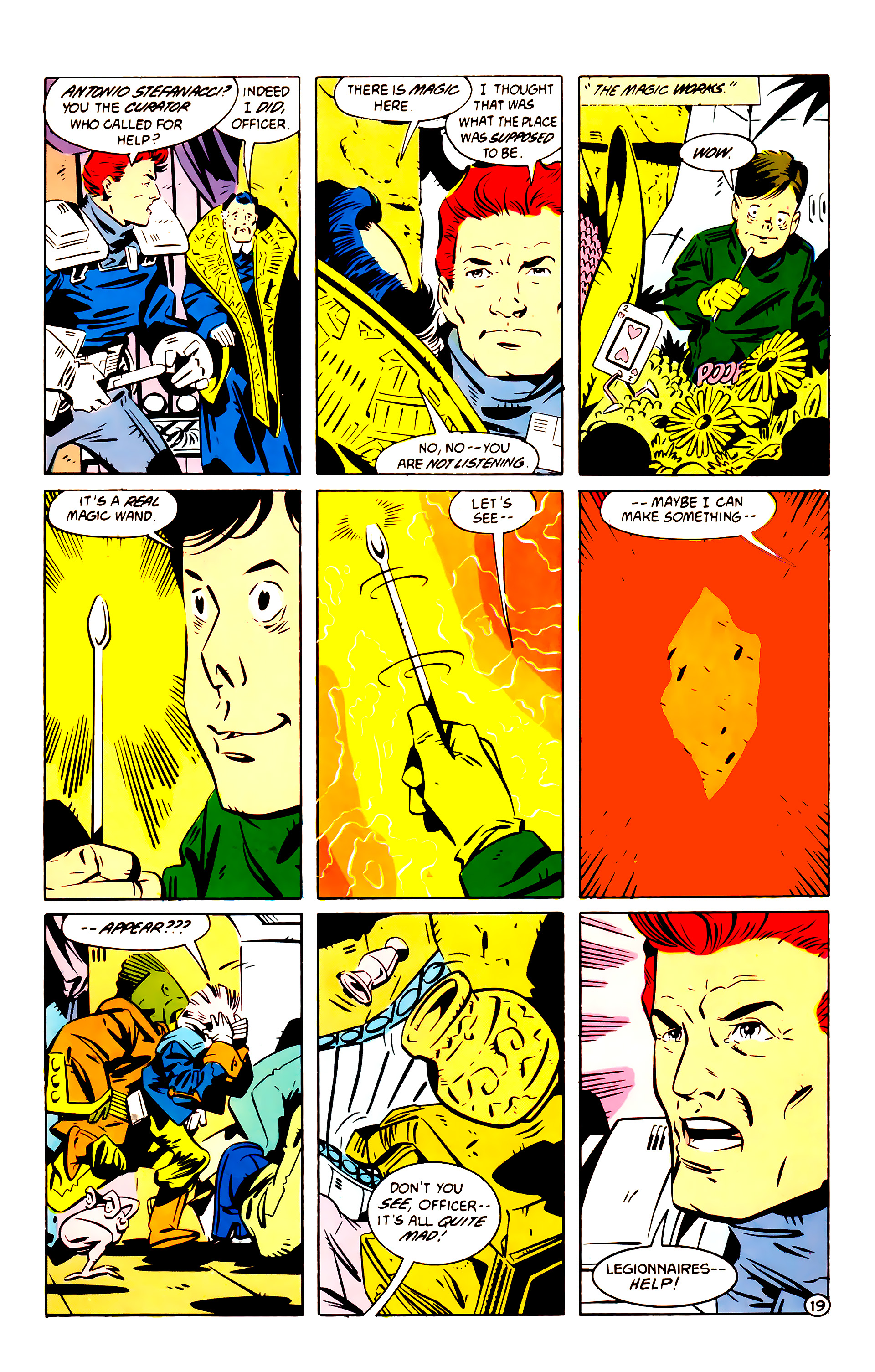 Legion of Super-Heroes (1984) 60 Page 19