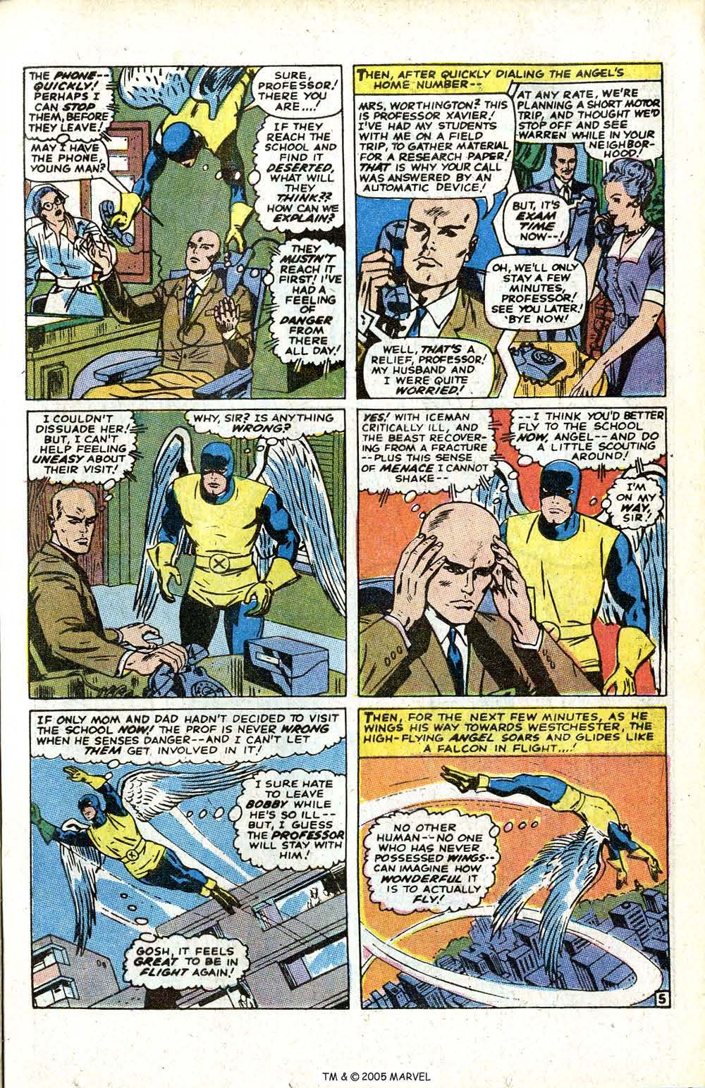 Uncanny X-Men (1963) issue 70 - Page 7