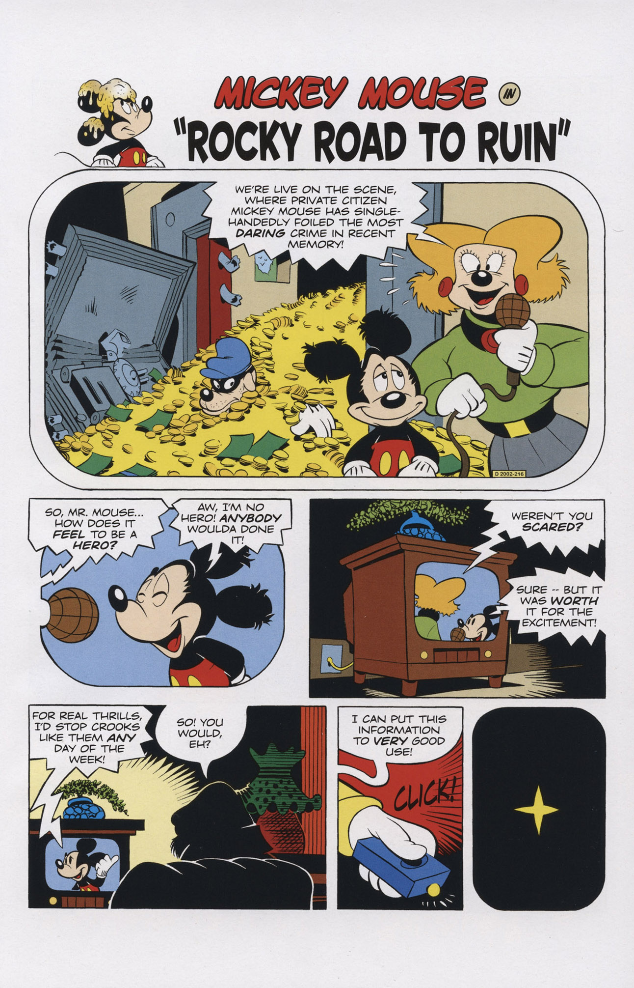 Read online Mickey Mouse (2011) comic -  Issue #308 - 13