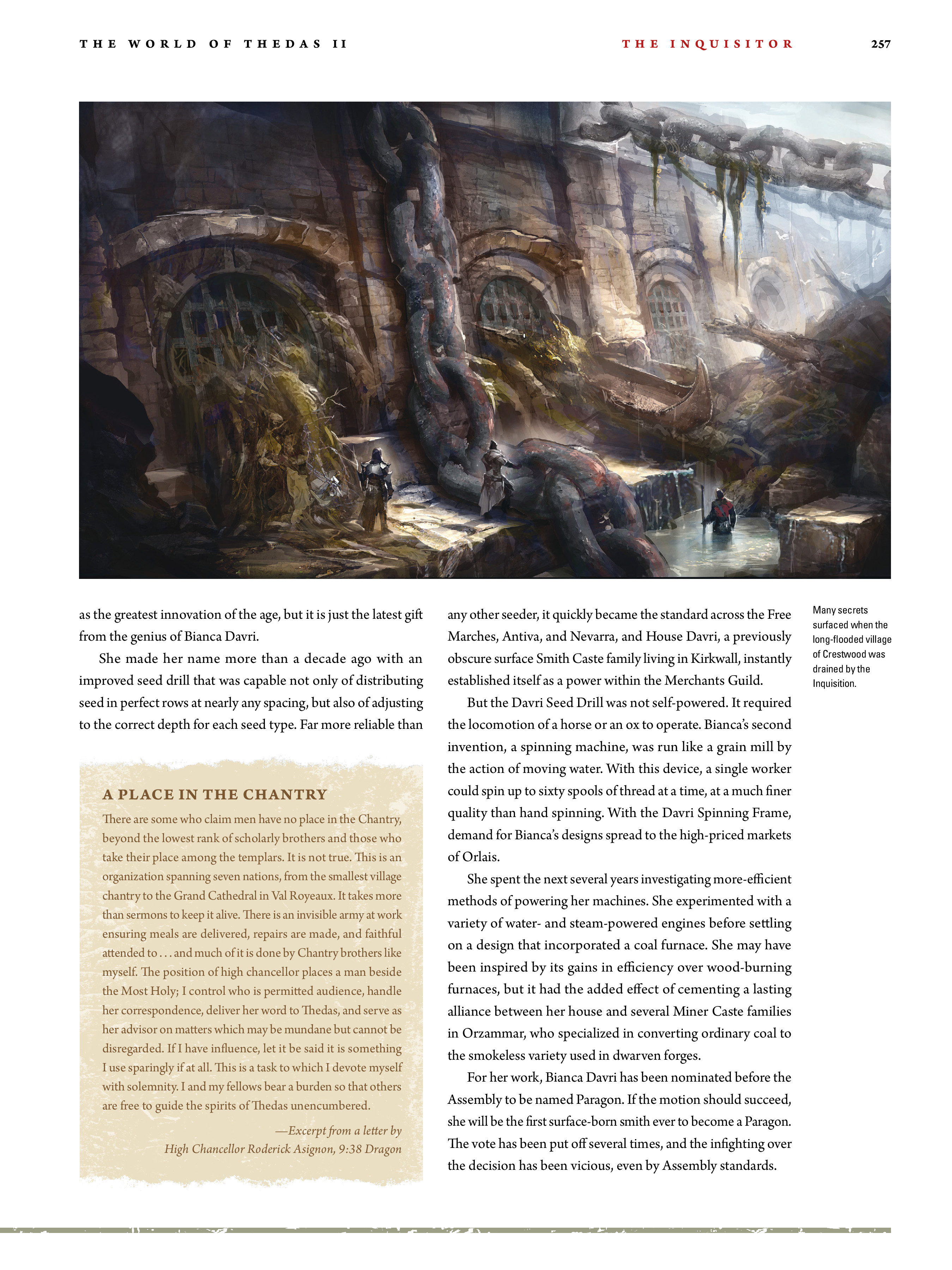 Read online Dragon Age: The World of Thedas comic -  Issue # TPB 2 - 250