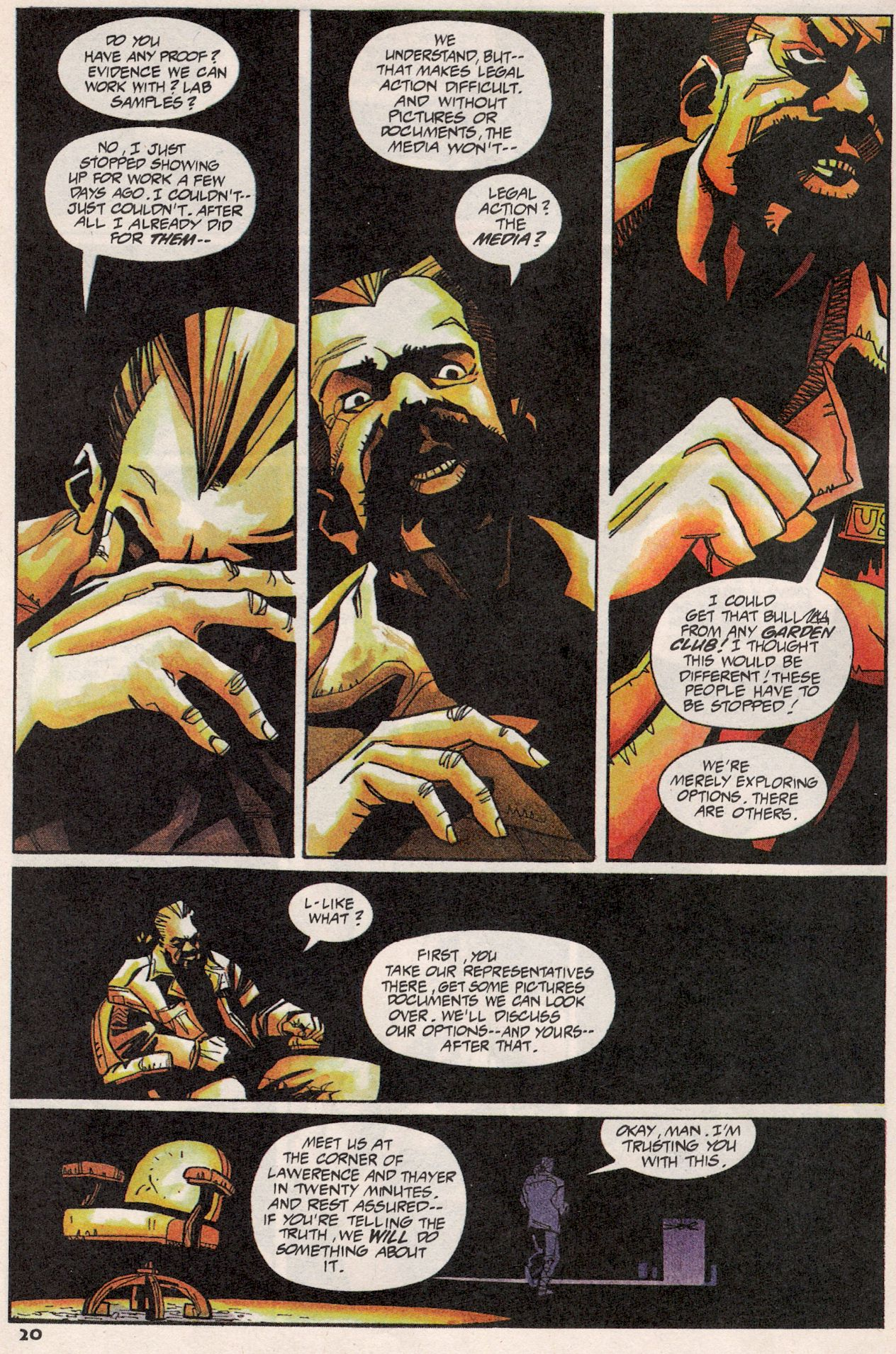Read online Shadow Cabinet comic -  Issue #3 - 16