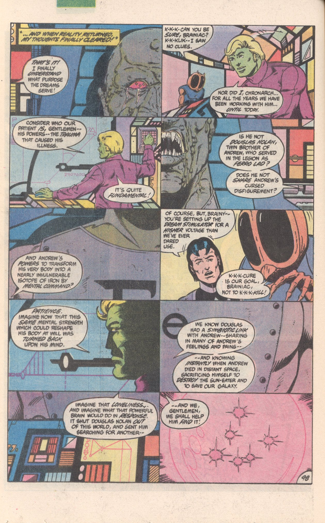 Legion of Super-Heroes (1980) 300 Page 48