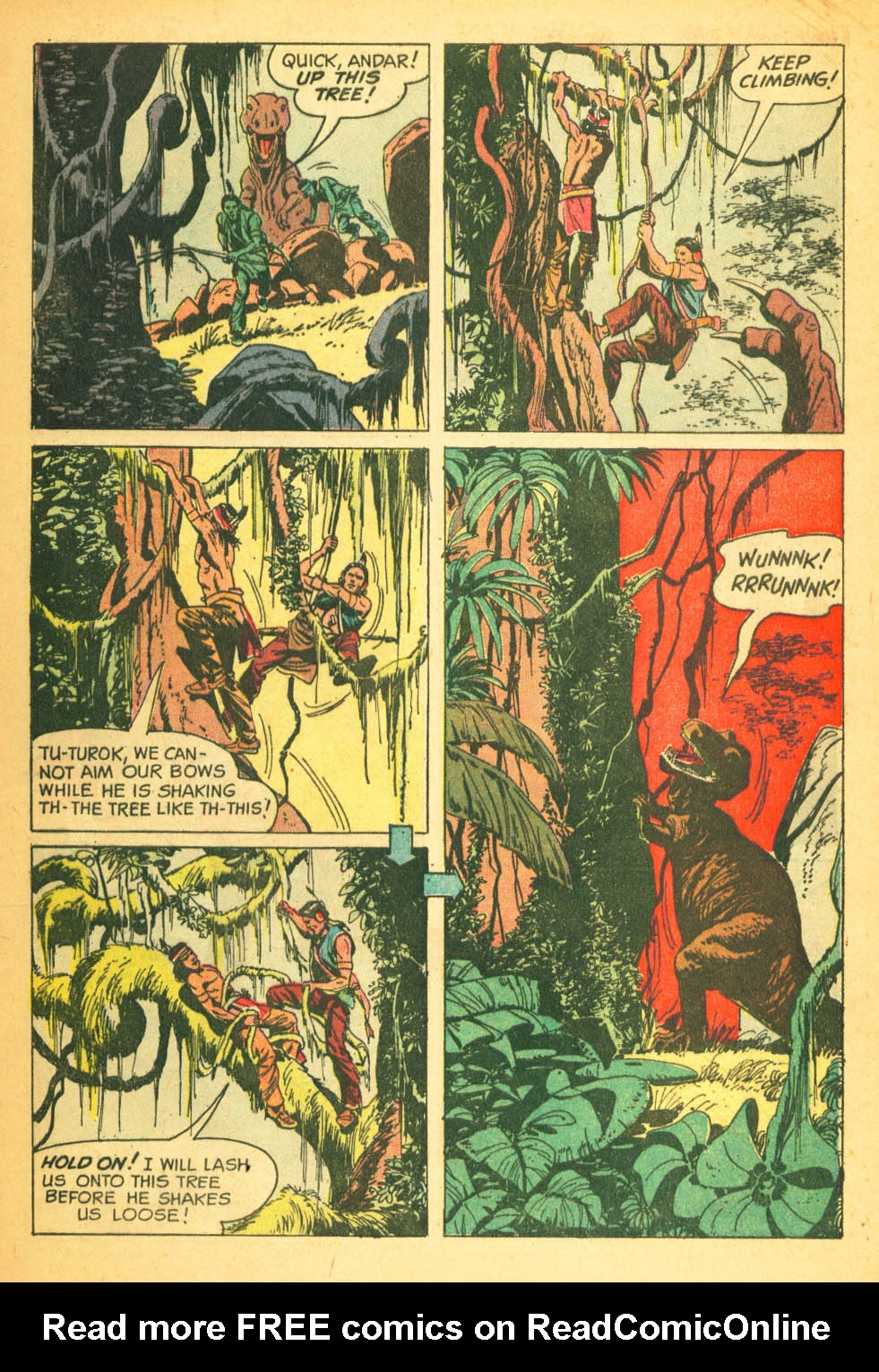 Read online Turok, Son of Stone comic -  Issue #27 - 28