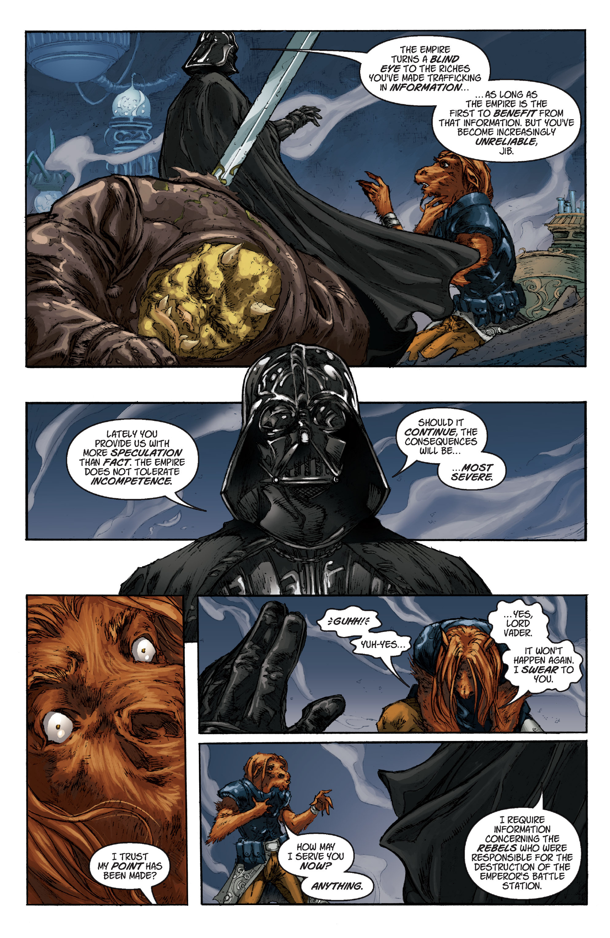Read online Star Wars Omnibus comic -  Issue # Vol. 17 - 291
