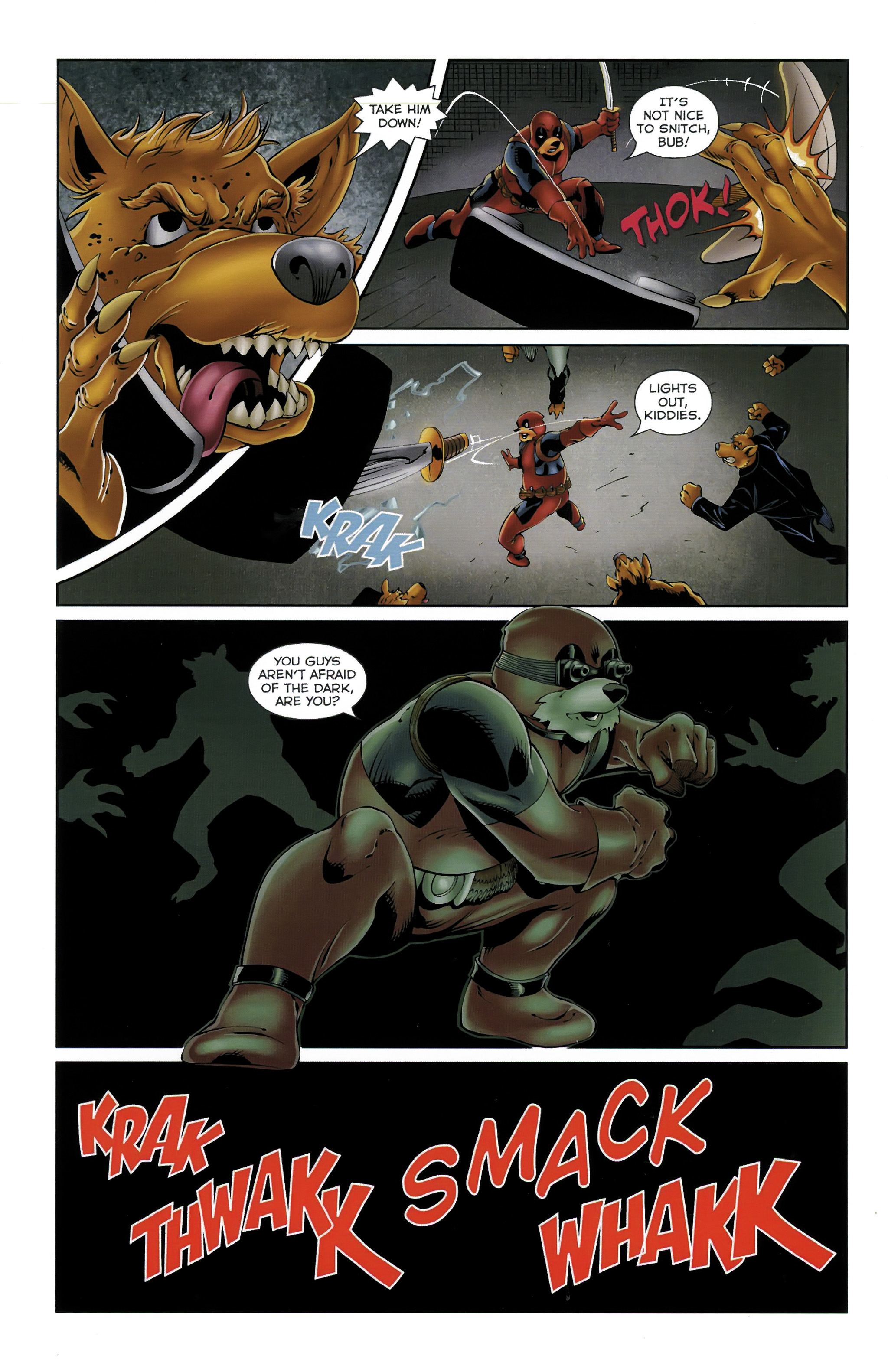 Read online Dead Pooh comic -  Issue #3 - 5