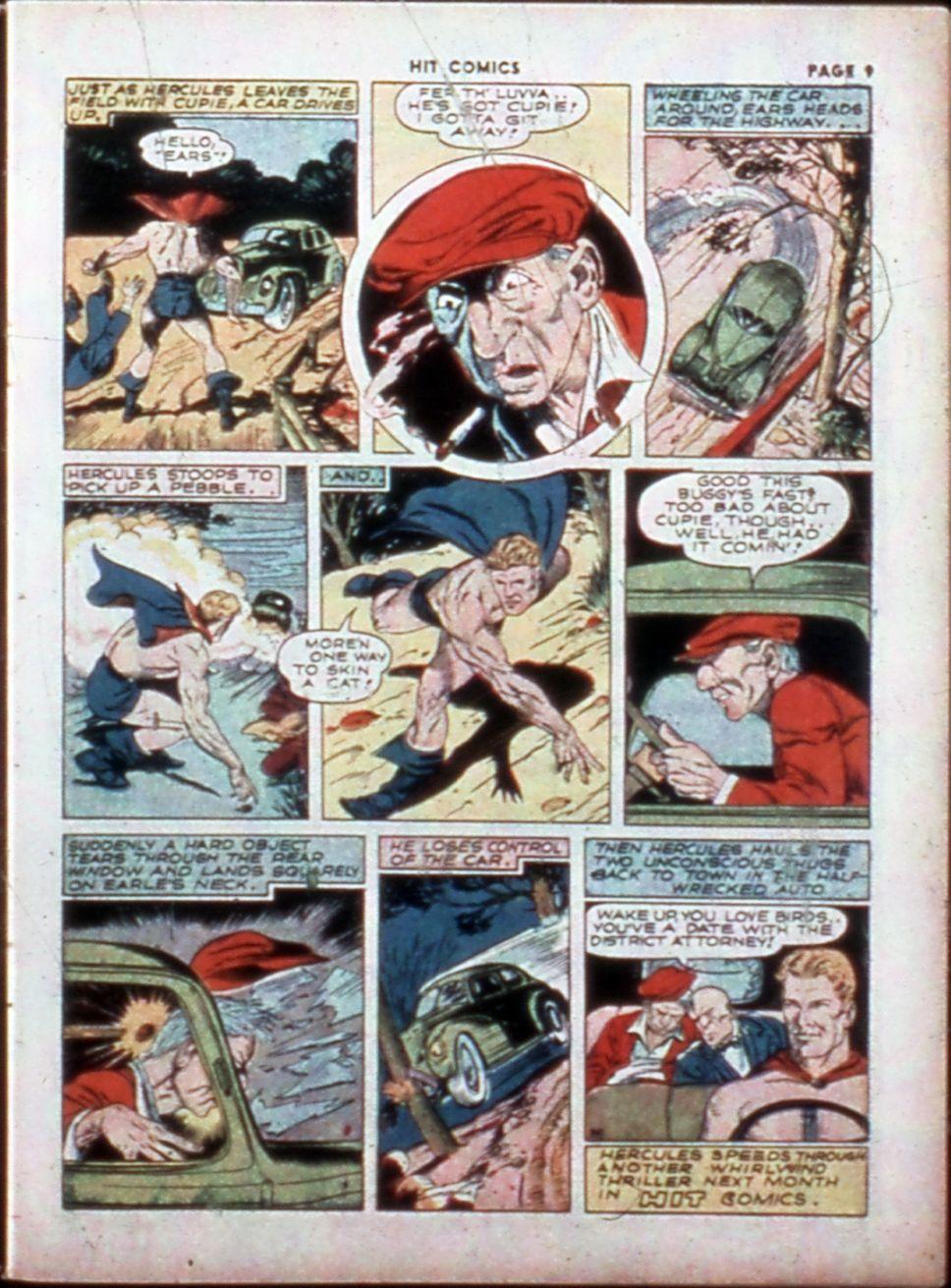 Read online Hit Comics comic -  Issue #14 - 11